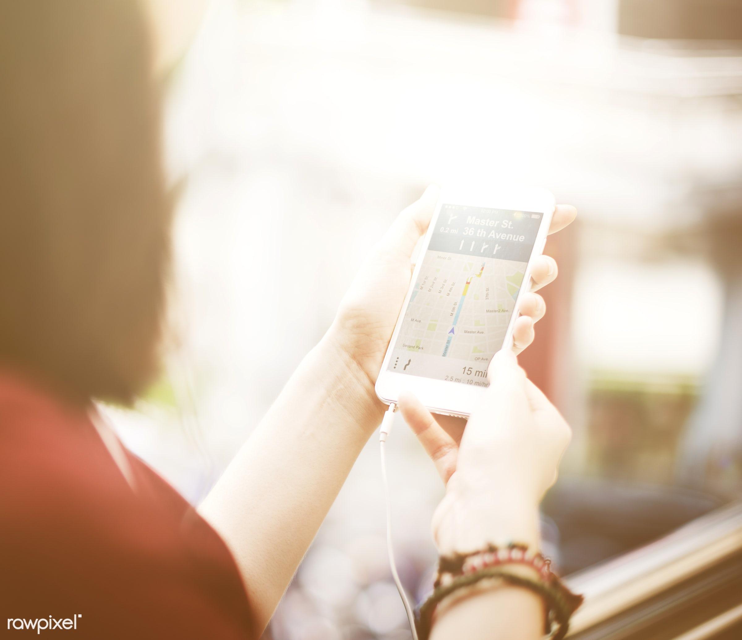 app, assist, browsing, commuter, destination, device, digital, digital device, direction, display, electronic, find, gadget...