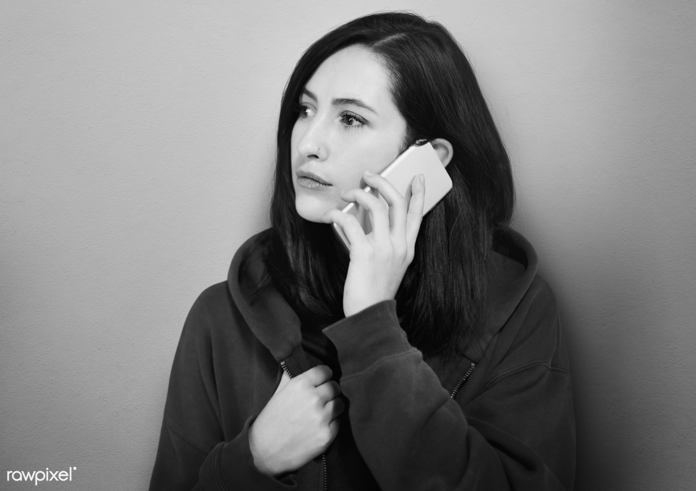 alone, brunette, call, calling, casual, communication, connection, conversation, device, digital, electronic, expression,...