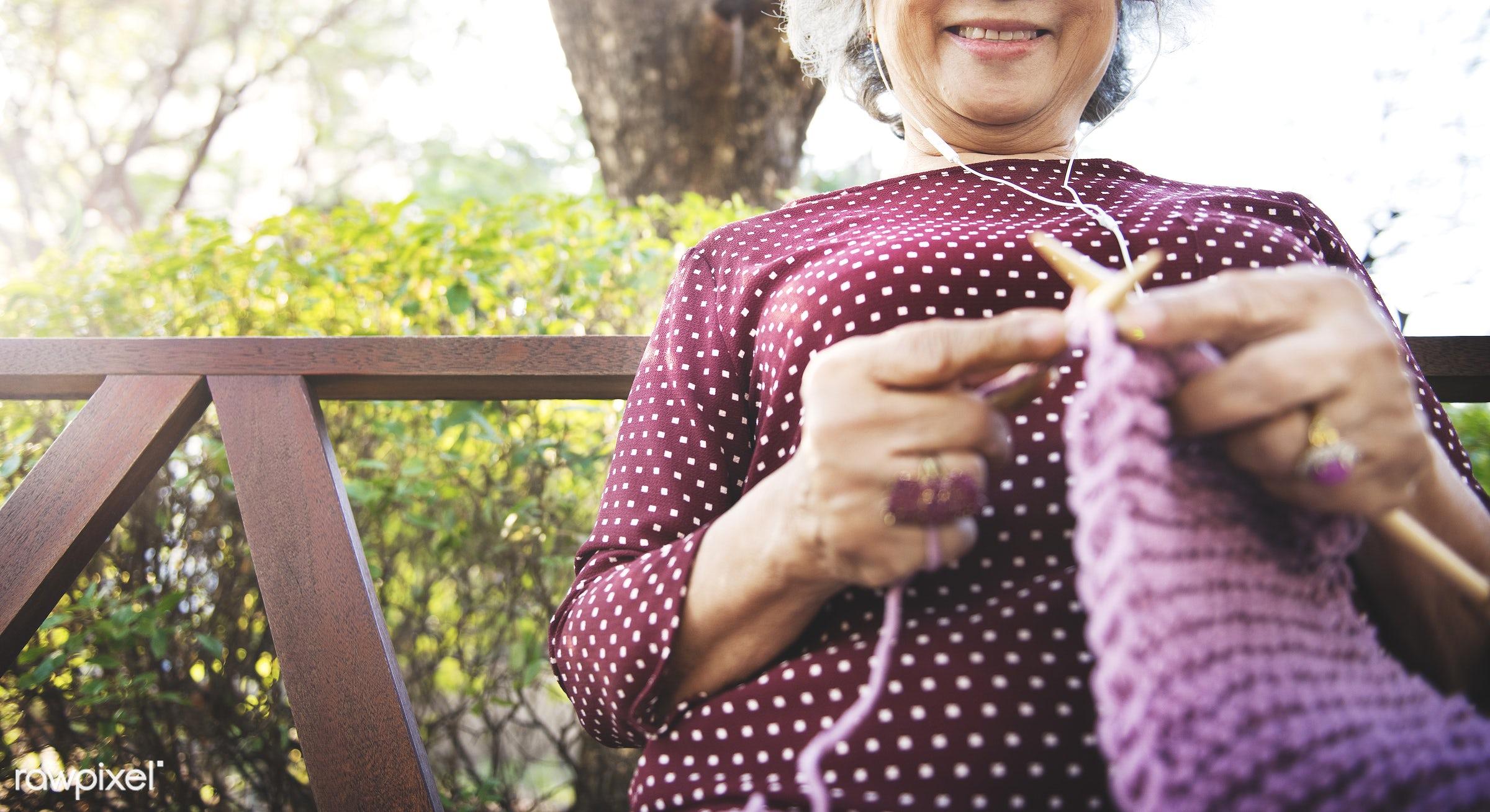 activity, art, artistic, asian, asian ethnicity, cheerful, clothing, creative, creativity, crochet, crocheting, elderly, fun...