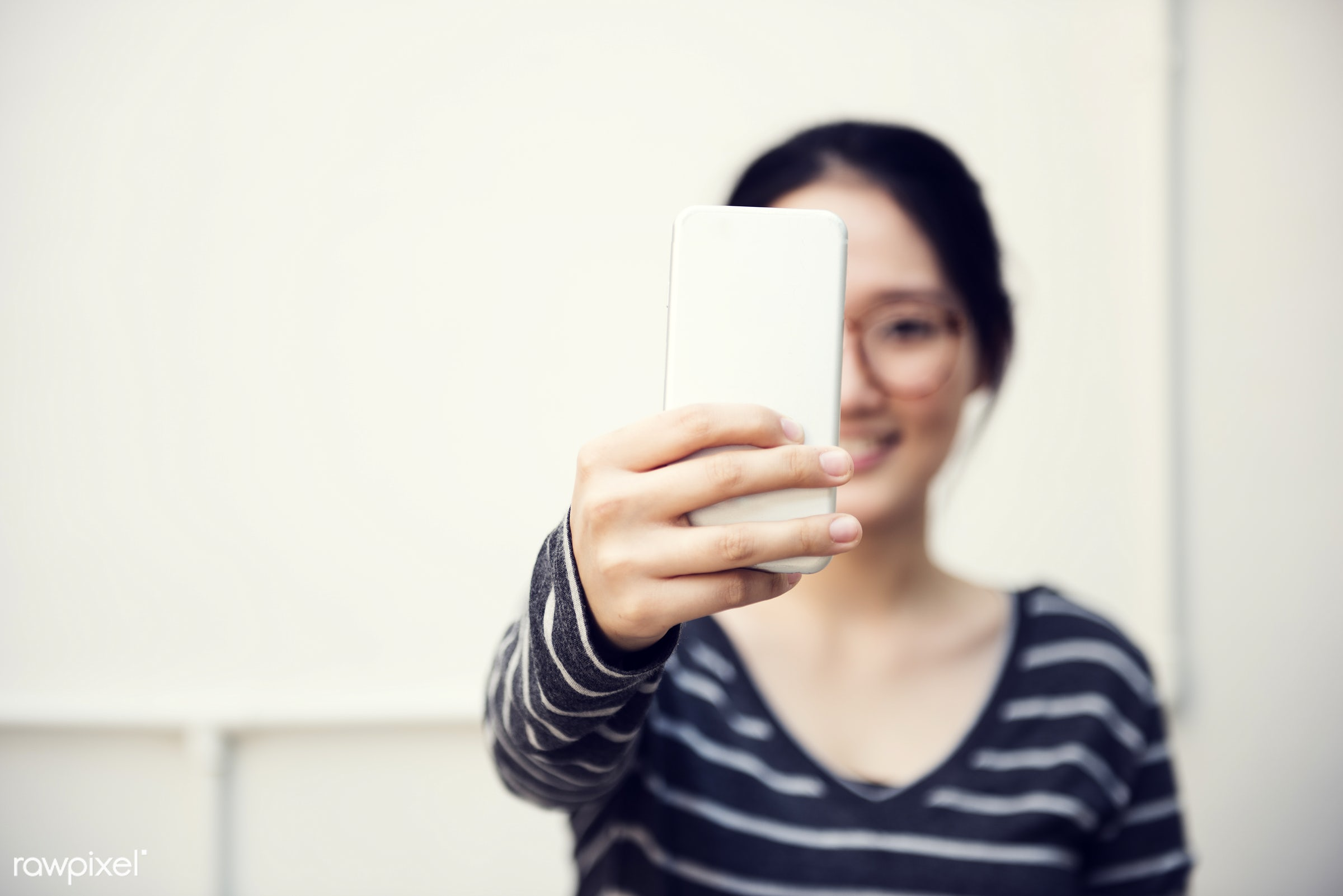 lifestyles, adult, alone, asian, browsing, casual, college, communication, connection, digital device, girl, glasses, global...