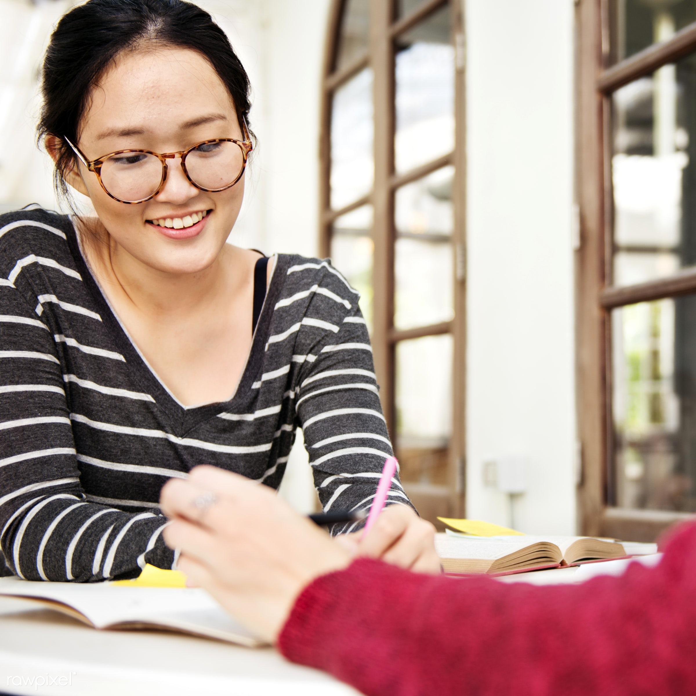 analysing, analysis, asian, bonding, book, brainstorming, campus, casual, caucasian, college, communication, conversation,...