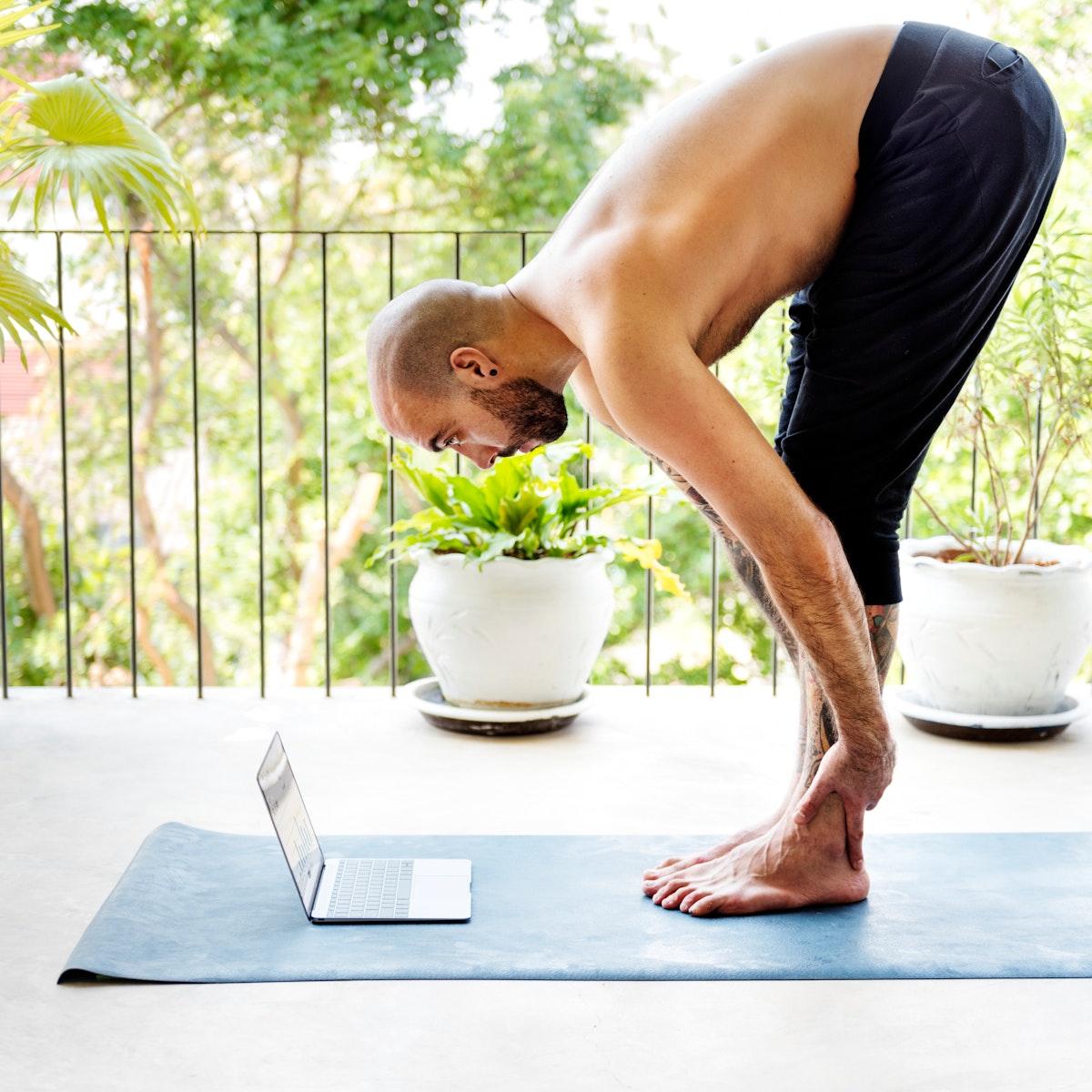 Active Concentration Digital Device Fitness Mind Concept