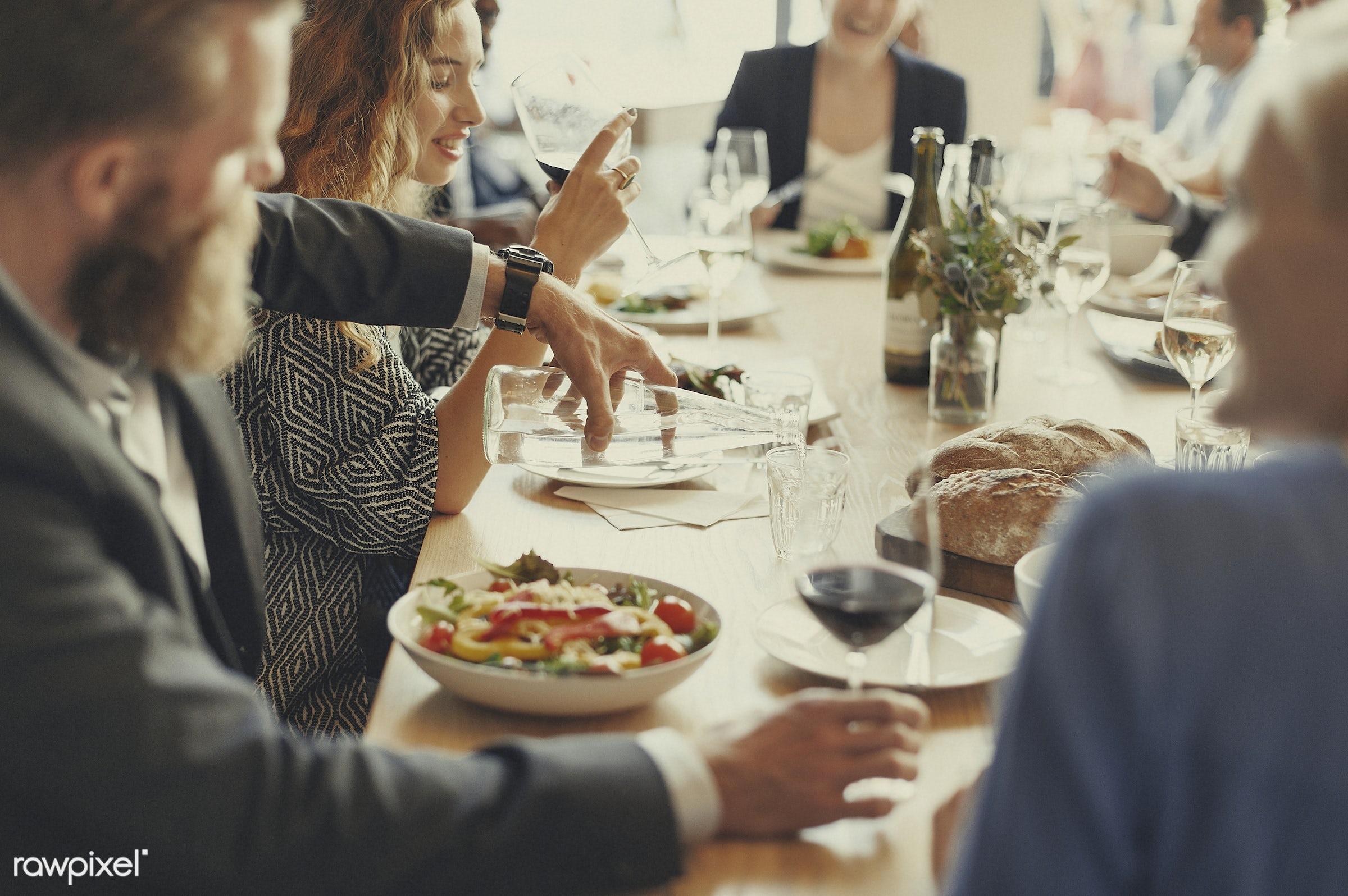 adult, banquet, break, brunch, buffet, business, business people, businesswoman, cafe, casual, catering, caucasian,...