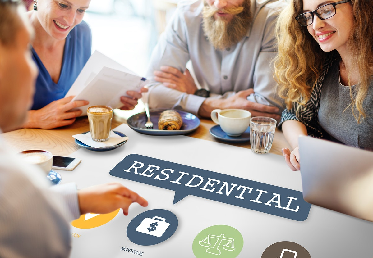 Real State Property Residential Investment Concept
