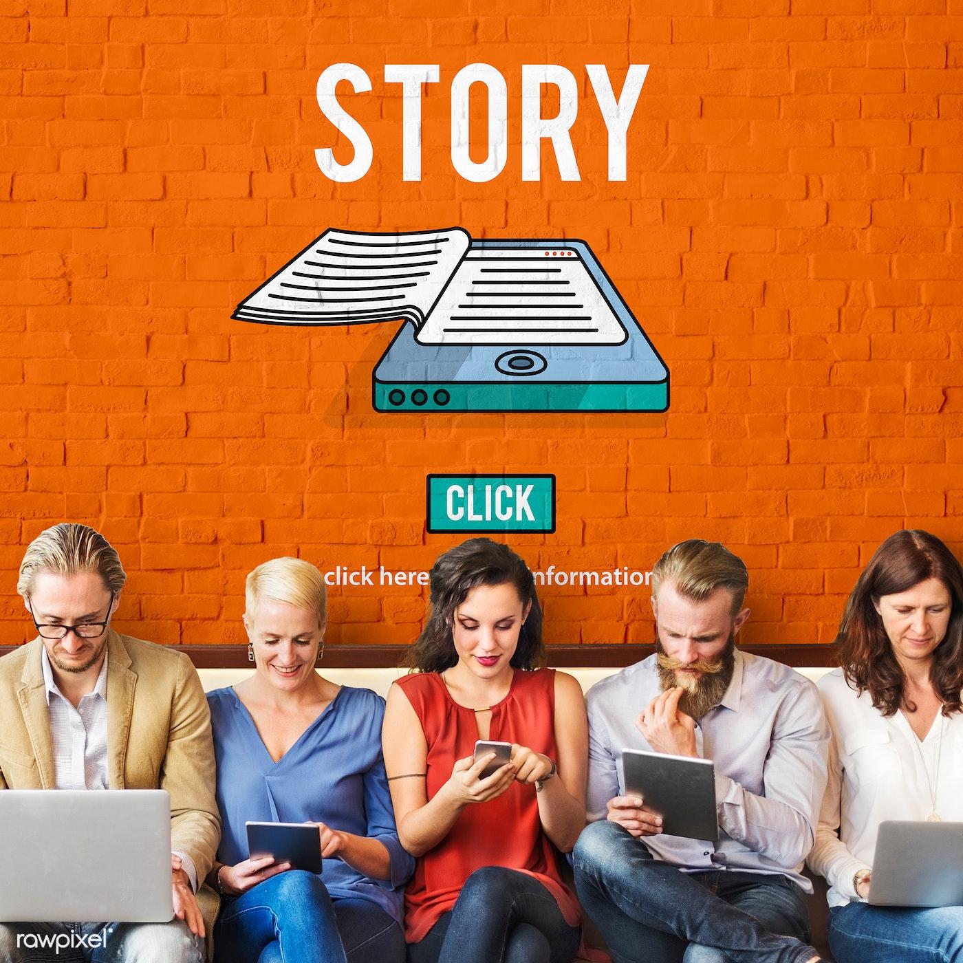 Storytelling on social media