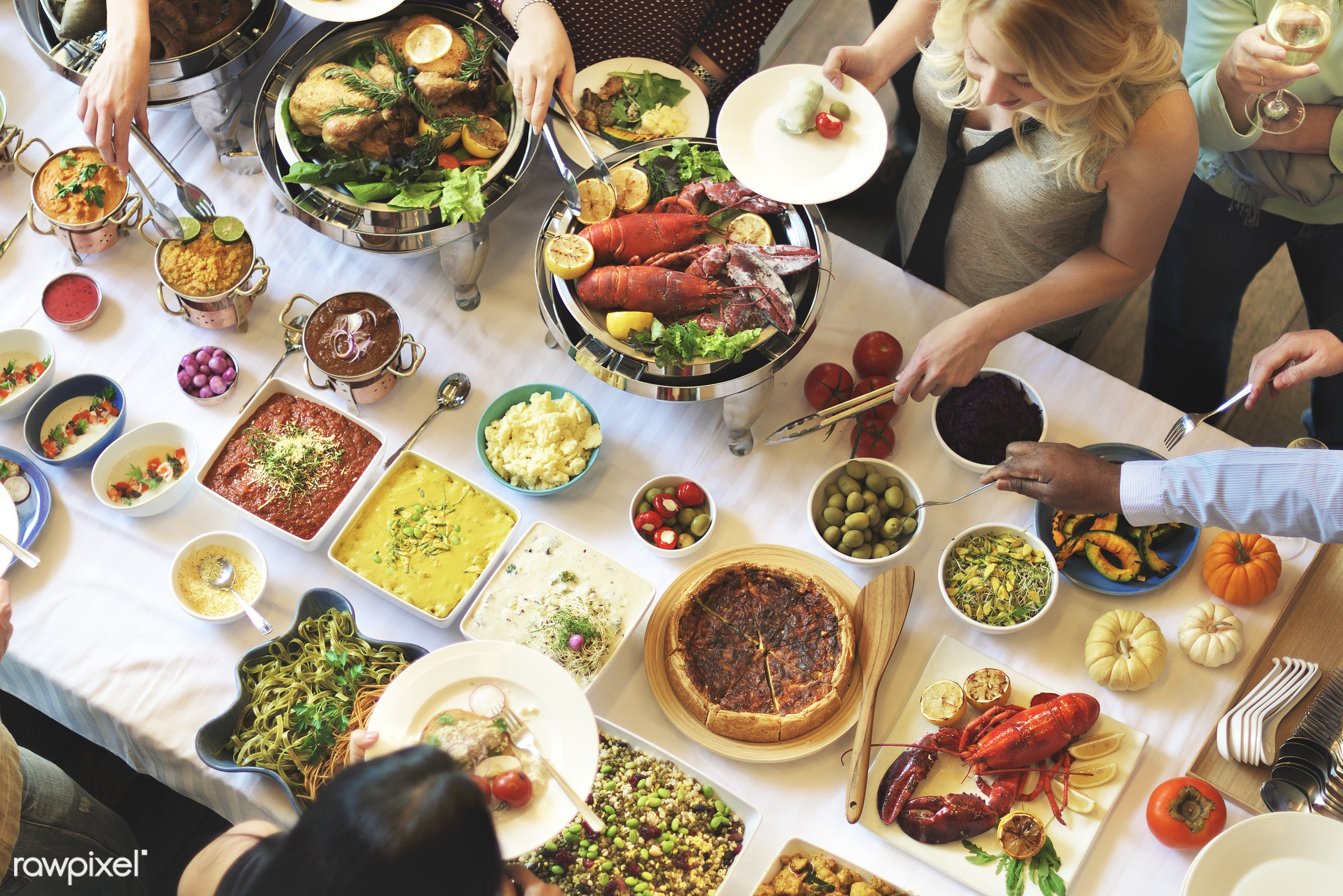 buffet, asian food, brunch, cafe, catering, celebration, cheering, cheers, choice, crowd, dessert, diet, dining, dinner,...