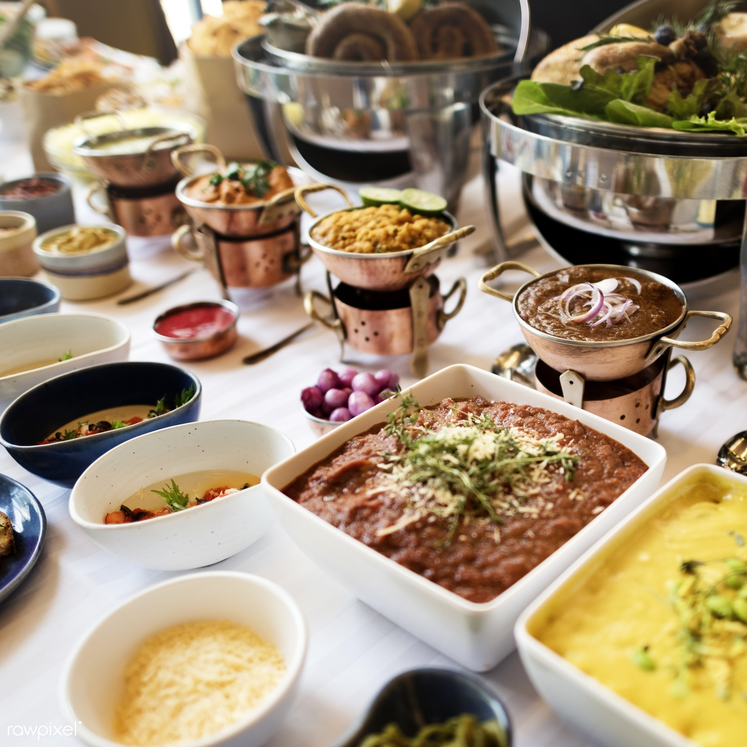 asian food, brunch, buffet, cafe, catering, celebration, cheering, cheers, choice, crowd, dessert, diet, dining, dinner,...