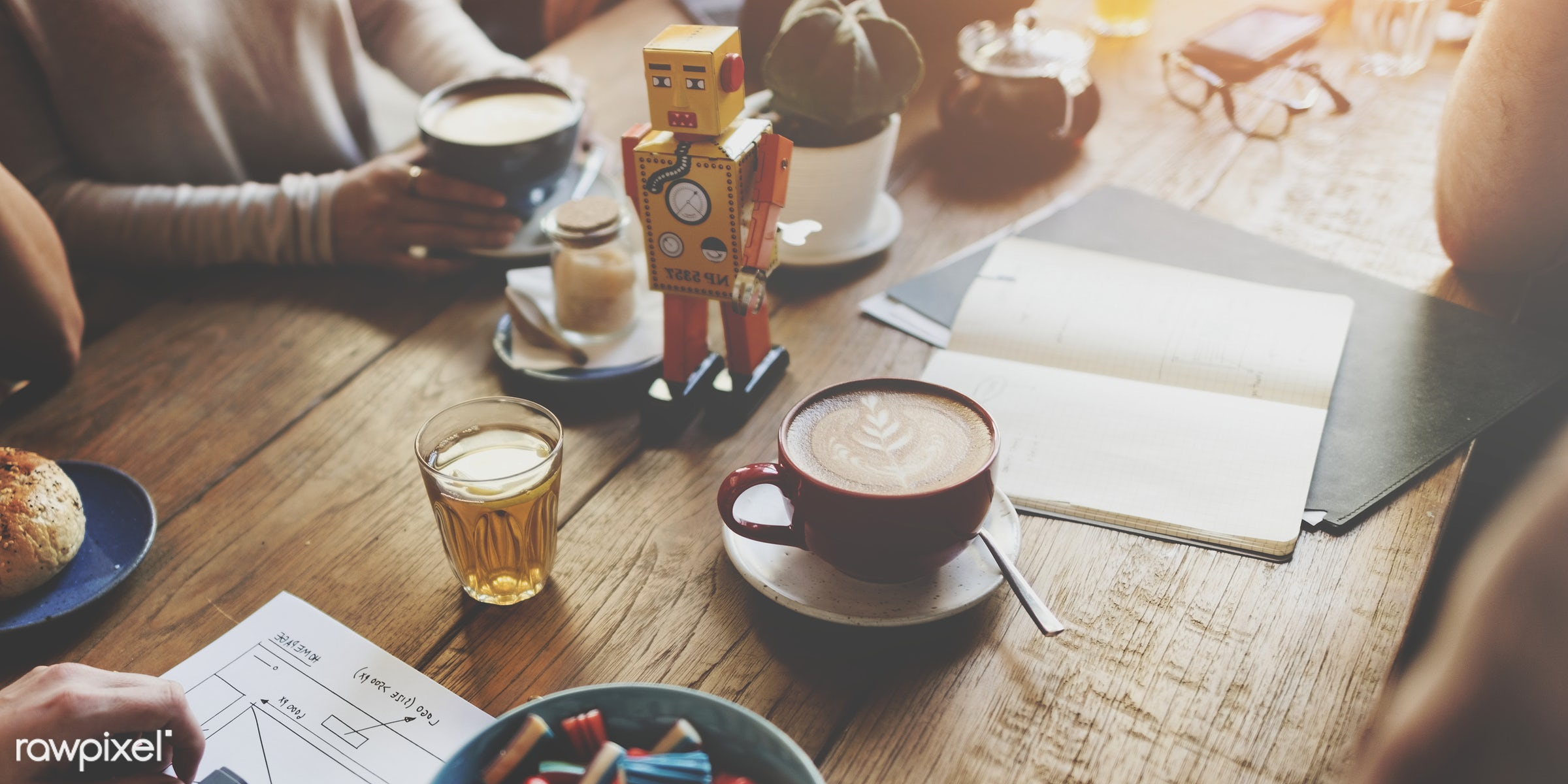 african descent, bistro, break, brown, cafe, coffee, coffee shop, communication, contemporary, cup, design, discussion,...