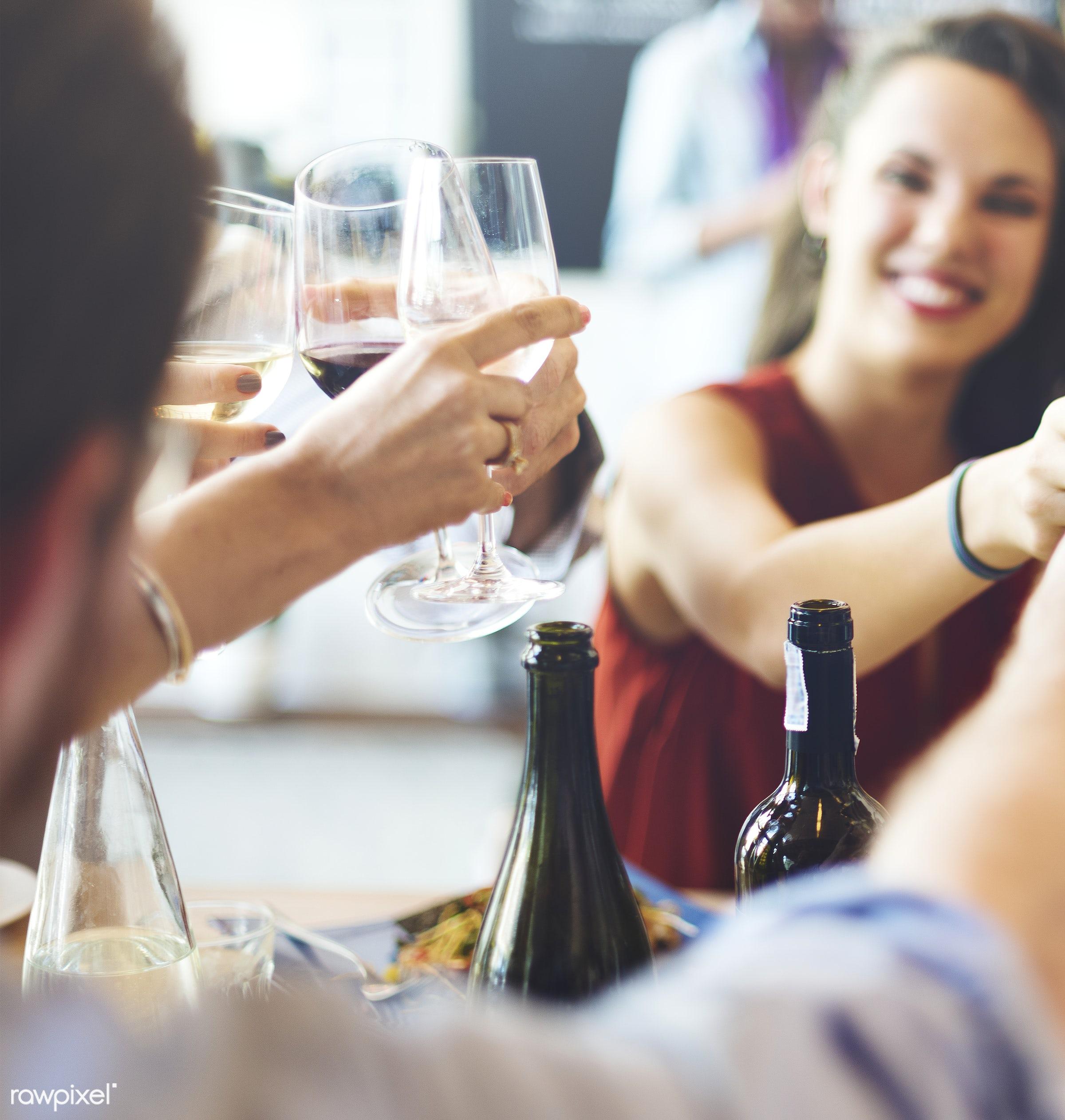 beautiful, beverage, brunch, cafe, celebrate, celebration, cheering, cheers, diet, dining, dinner, drinking, drinks, eat,...