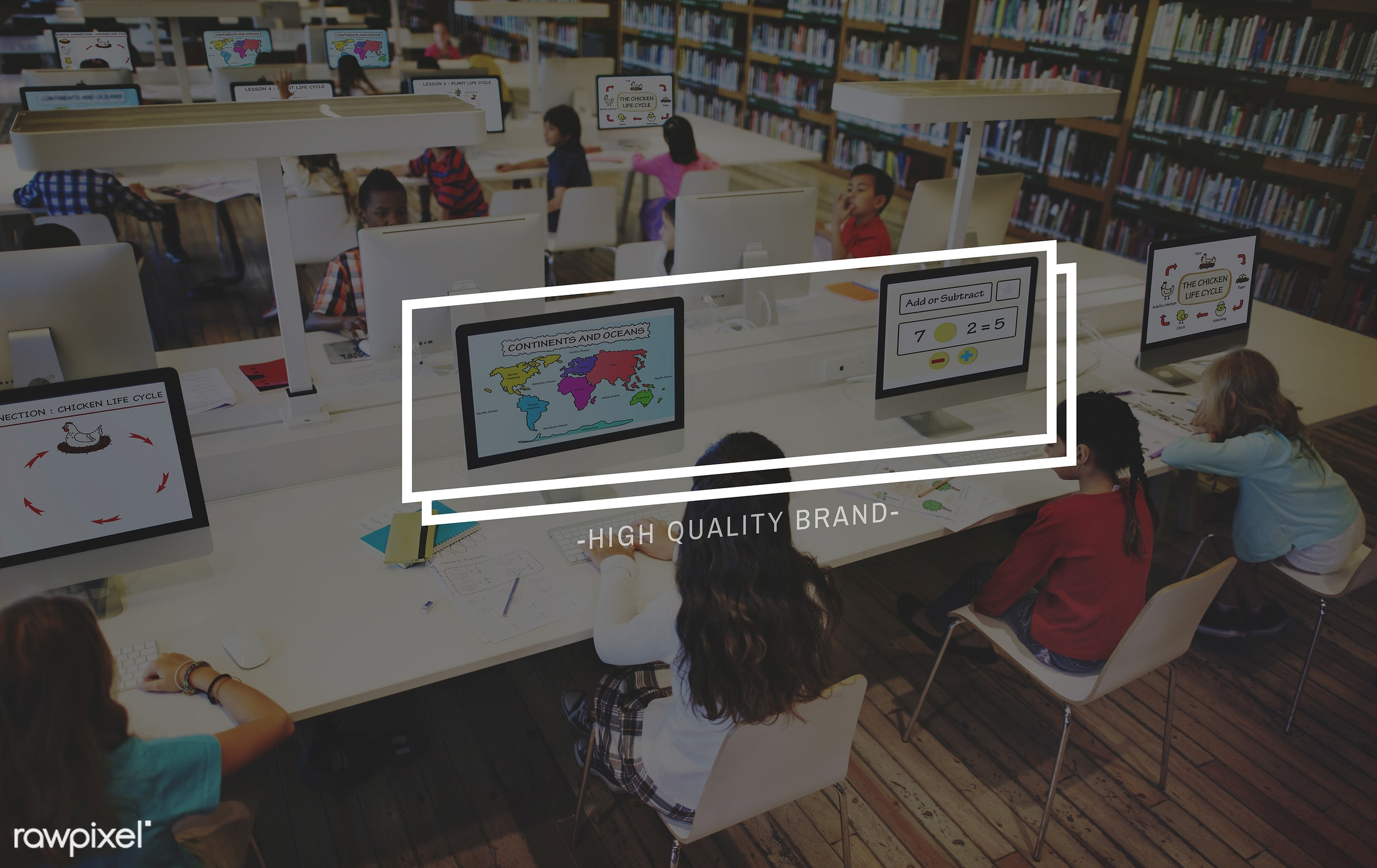 advertising, books, brand, branding, business, childhood, children, classmates, company, computer, contemporary, decoration...