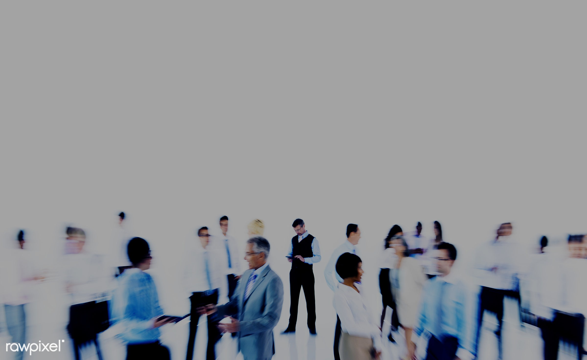 Group of diverse business people - african descent, asian, black, business, business people, businessman, caucasian,...