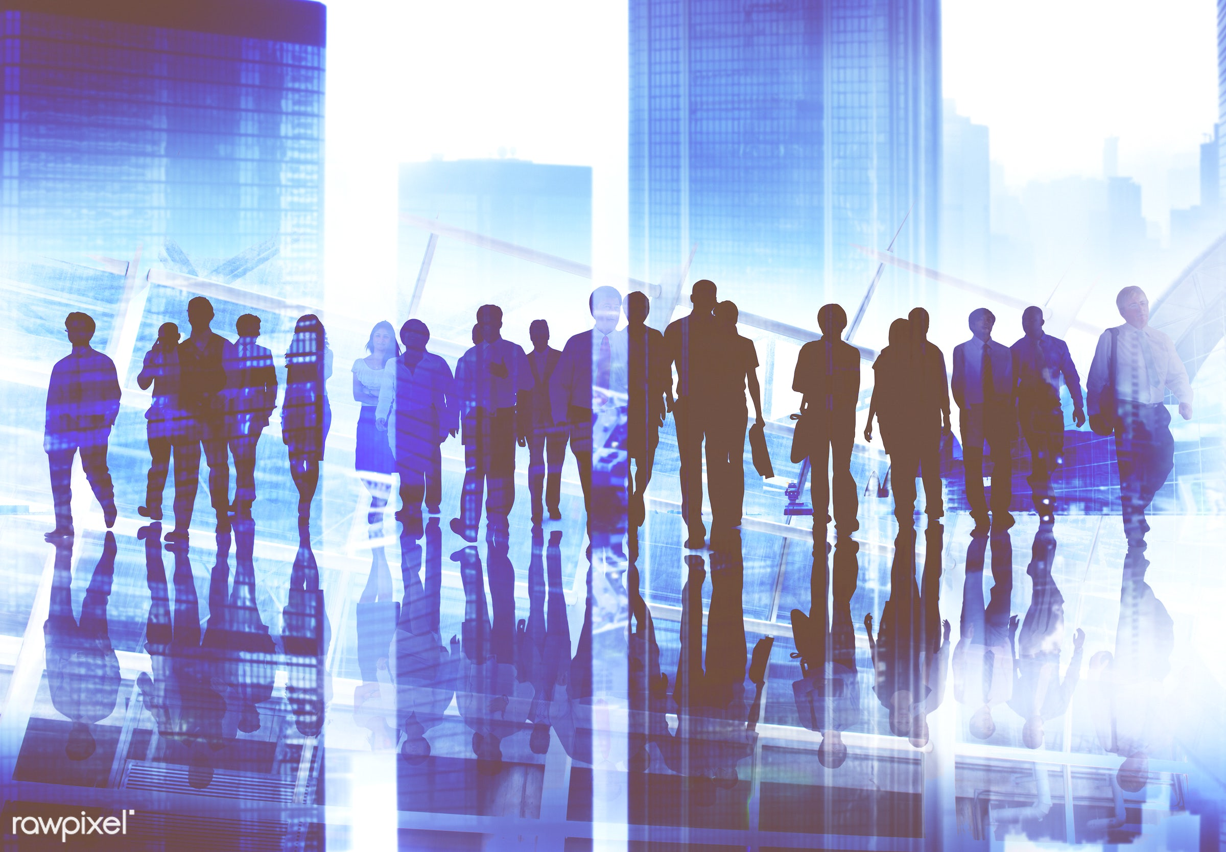 african descent, asian, black, buildings, business, business people, businessman, caucasian, cheerful, collaboration,...