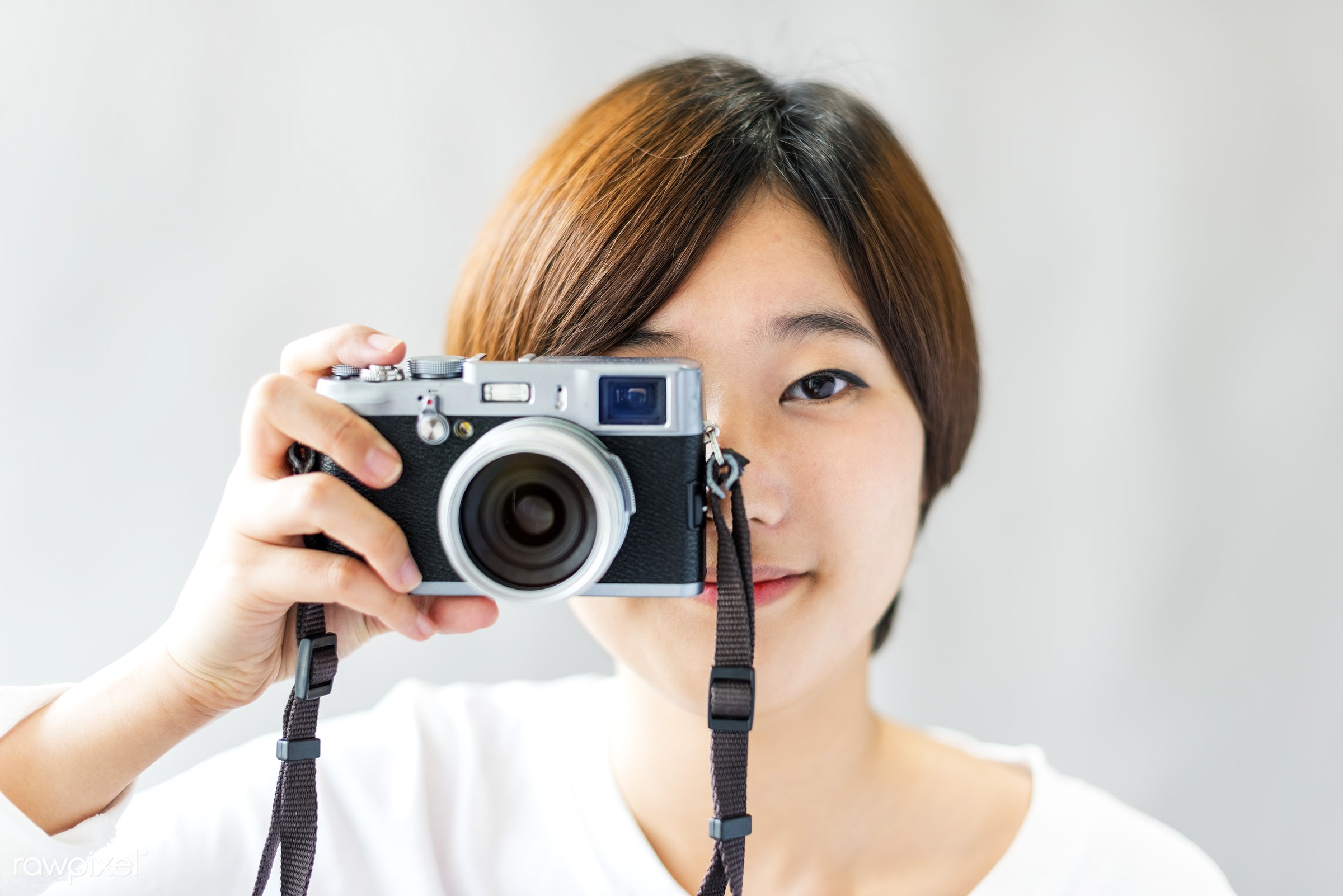 activity, asian ethnicity, attractive, beautiful, camera, casual, cheerful, confidence, female, focus, framing, fun, girl,...