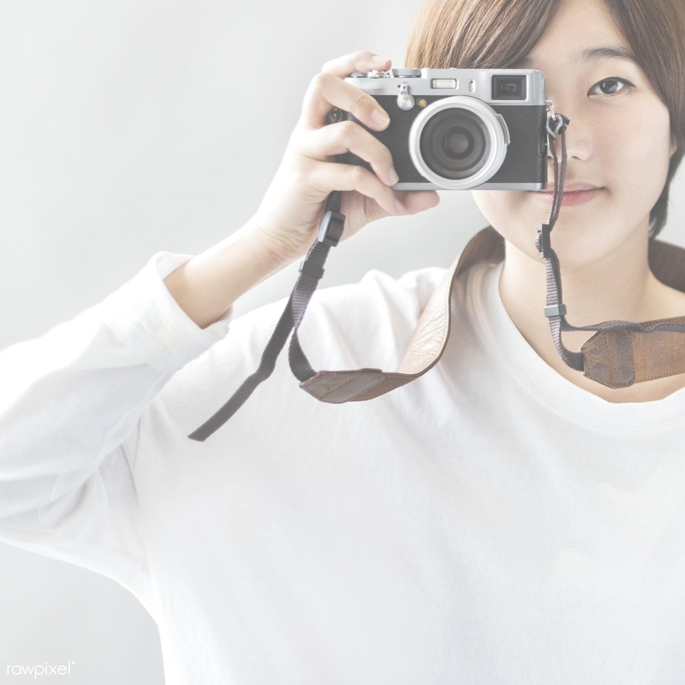 active, adult, art, artistic, asian, attractive, beautiful, brunette, camera, casual, cheerful, creative, device, digital,...