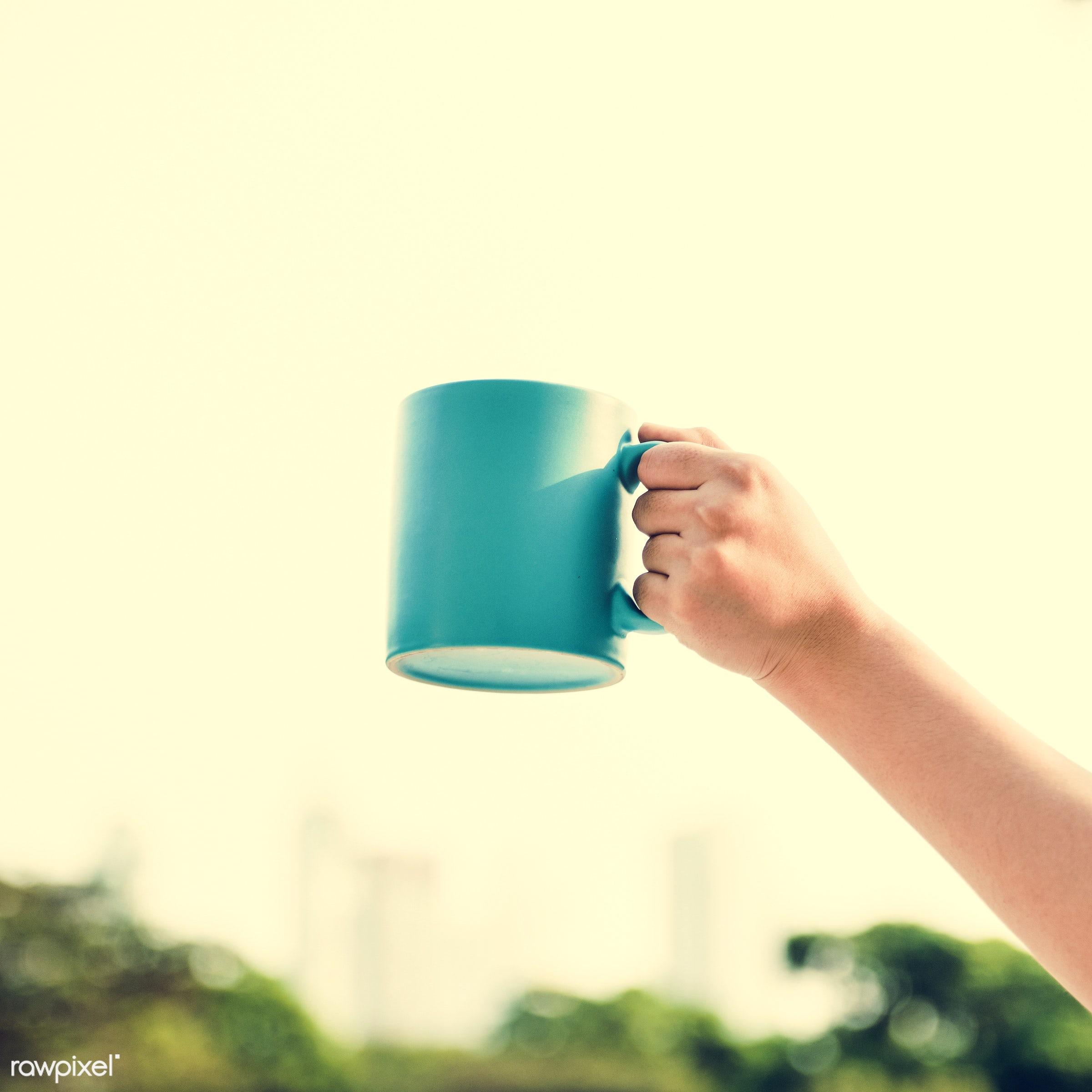sky, coffee, drinking, drink, freshen, breakfast, beverage, break, morning, tea