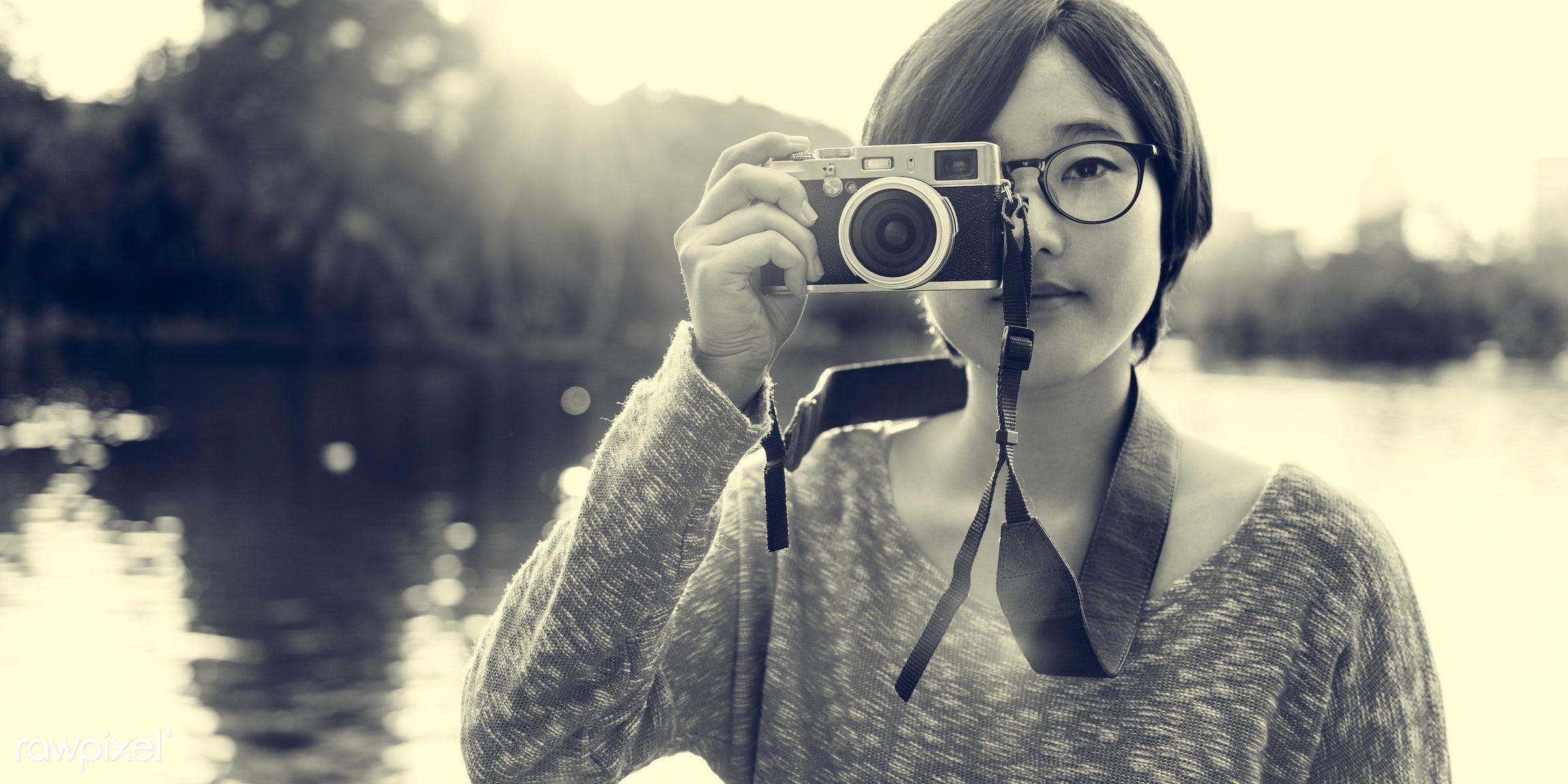 activity, adventure, asian ethnicity, beautiful, camera, casual, destination, enjoyment, freedom, fun, girl, hangout,...