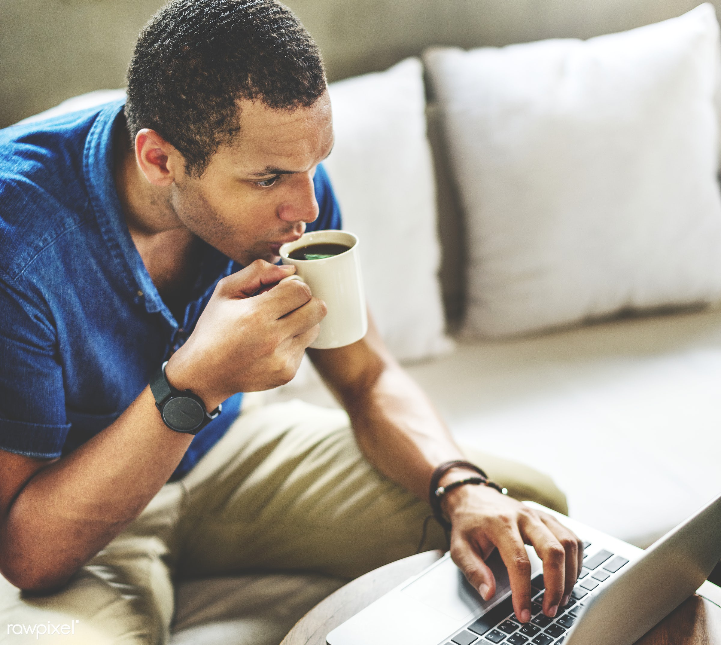 african, analyzing, black, browsing, business, businessman, cafe, casual, coffee, coffee break, communication, computer,...