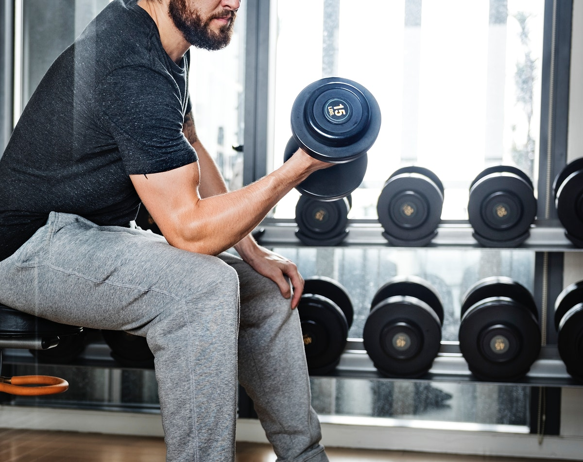 Dumbell Gym Weight Fitness Dumbbell Active Concept