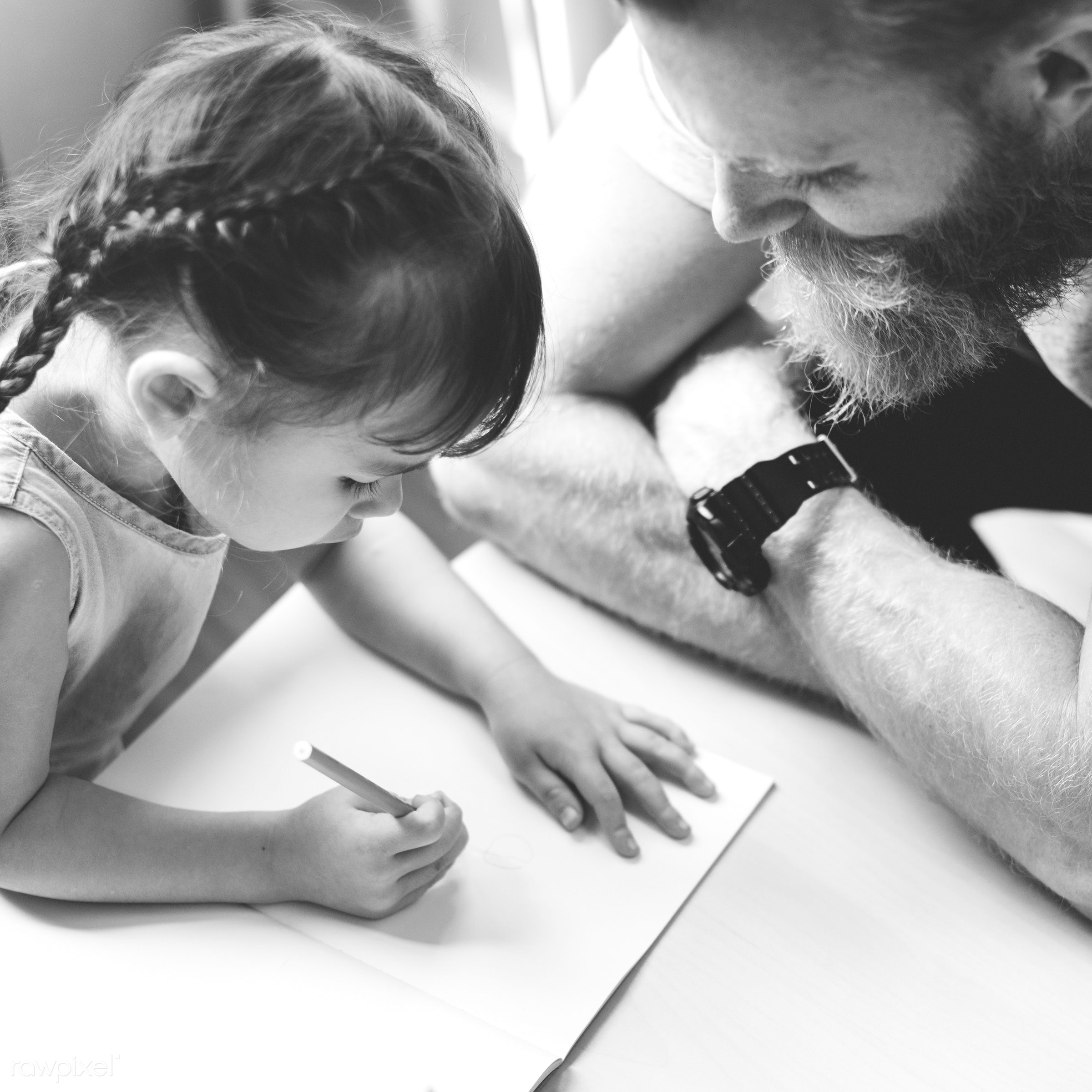 adolescence, bonding, care, cheerful, child, childhood, communication, connection, cute, dad, daughter, drawing, education,...