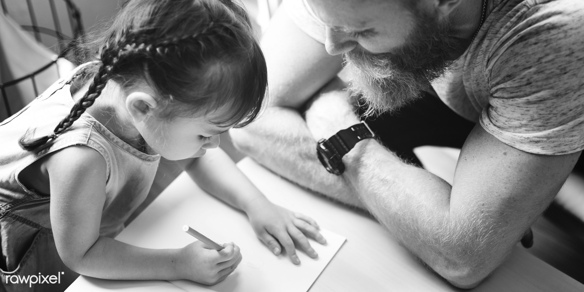 dad, adolescence, bonding, care, cheerful, child, childhood, communication, connection, cute, daughter, drawing, education,...