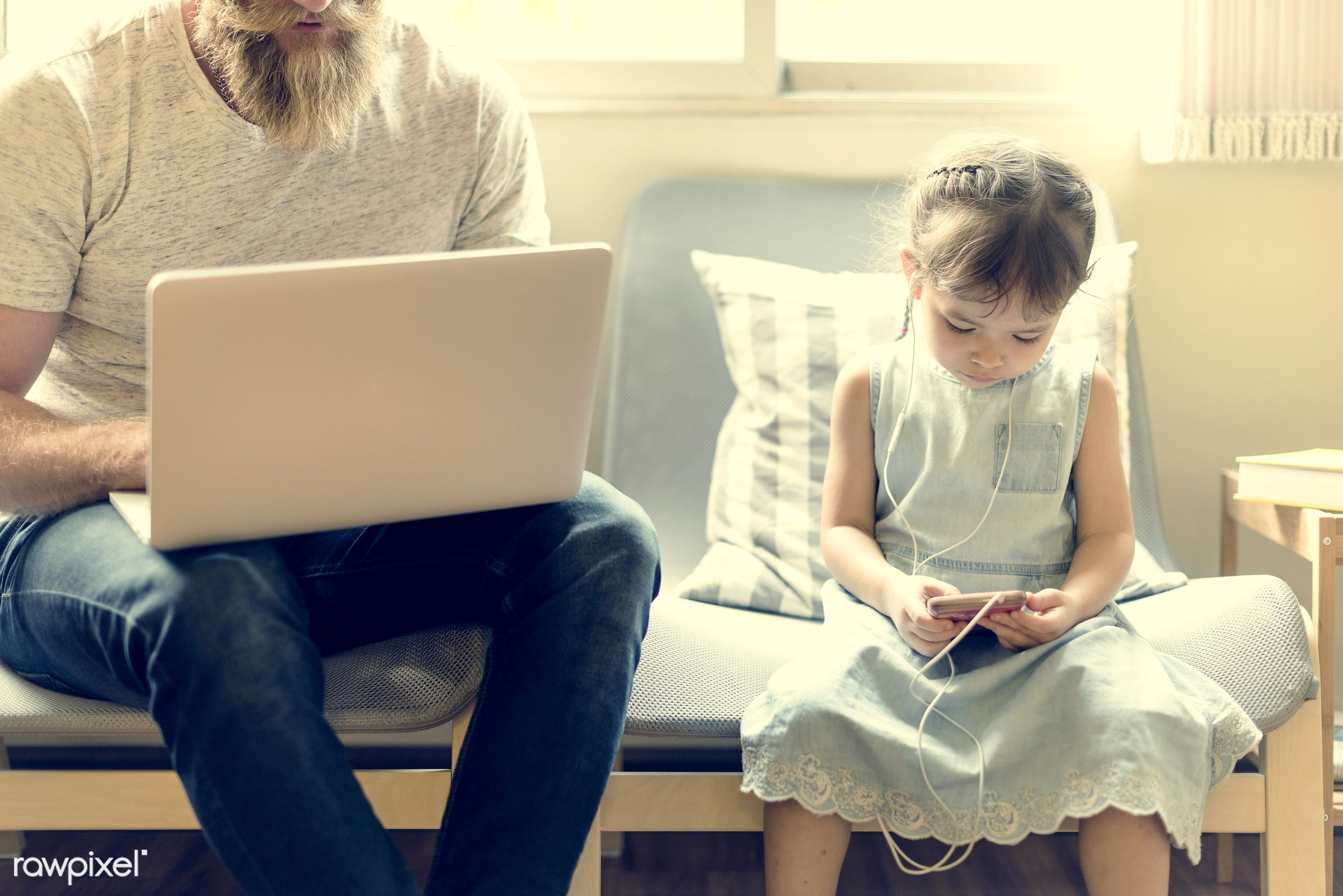 casual, adult, asian, caucasian, child, childhood, communication, connection, curious, cute, daughter, device, digital,...