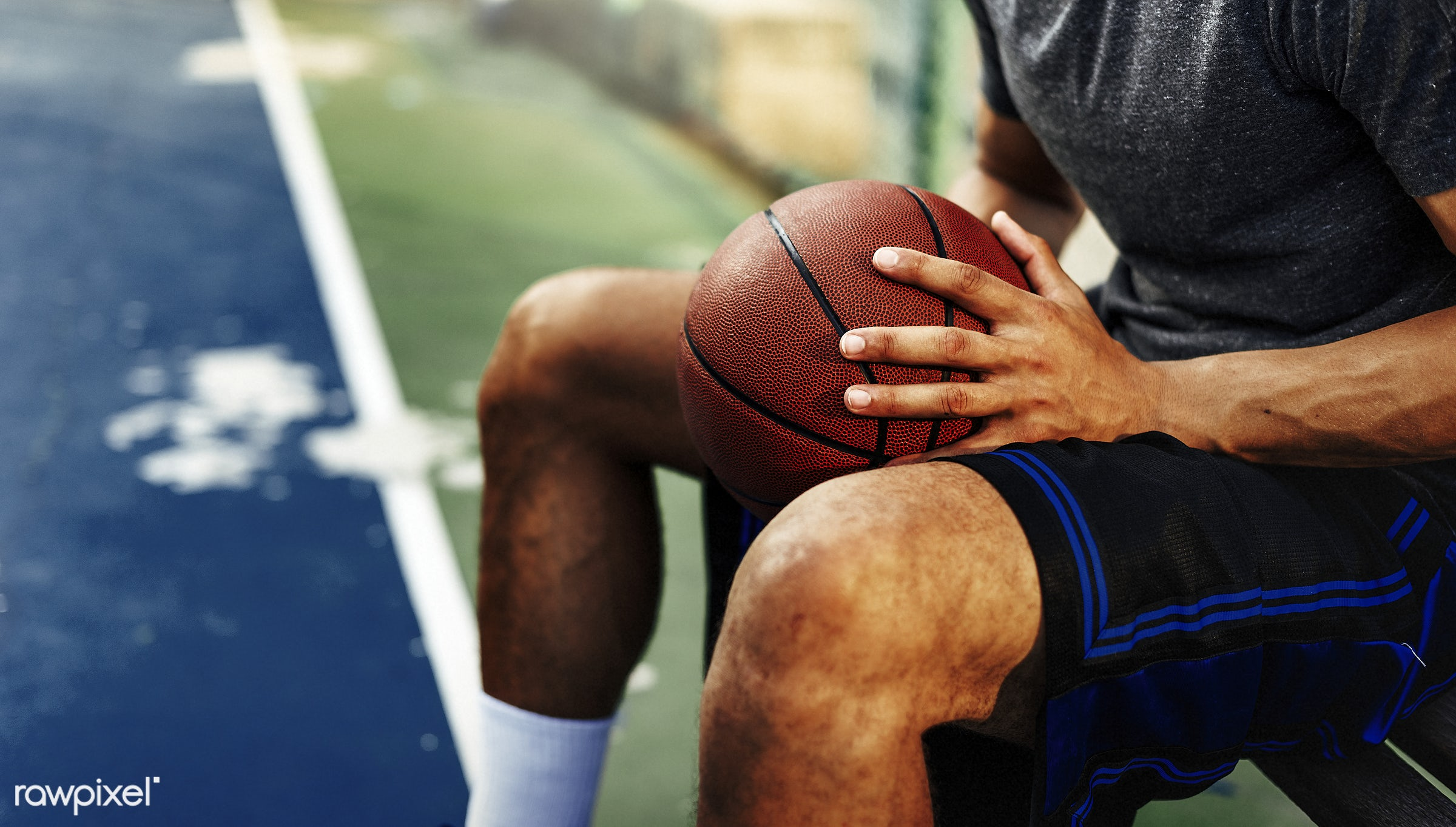 activity, alone, basketball, boy, caucasian, exercise, game, gymnasium, man, one, play, player, practice, shoot, sport,...
