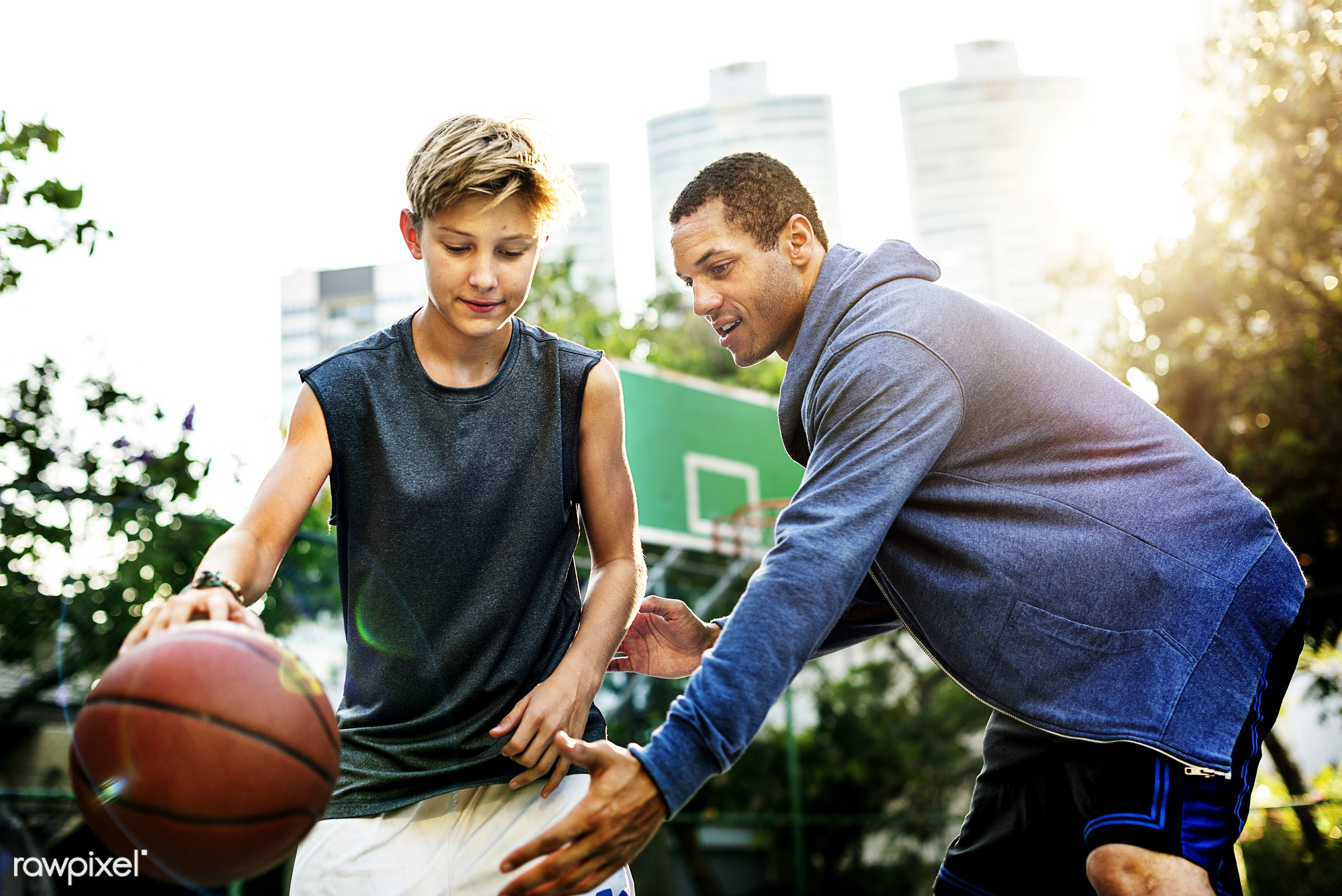 sport, activity, basketball, boy, caucasian, coach, coaching, court, exercise, friends, game, man, play, player, practice,...
