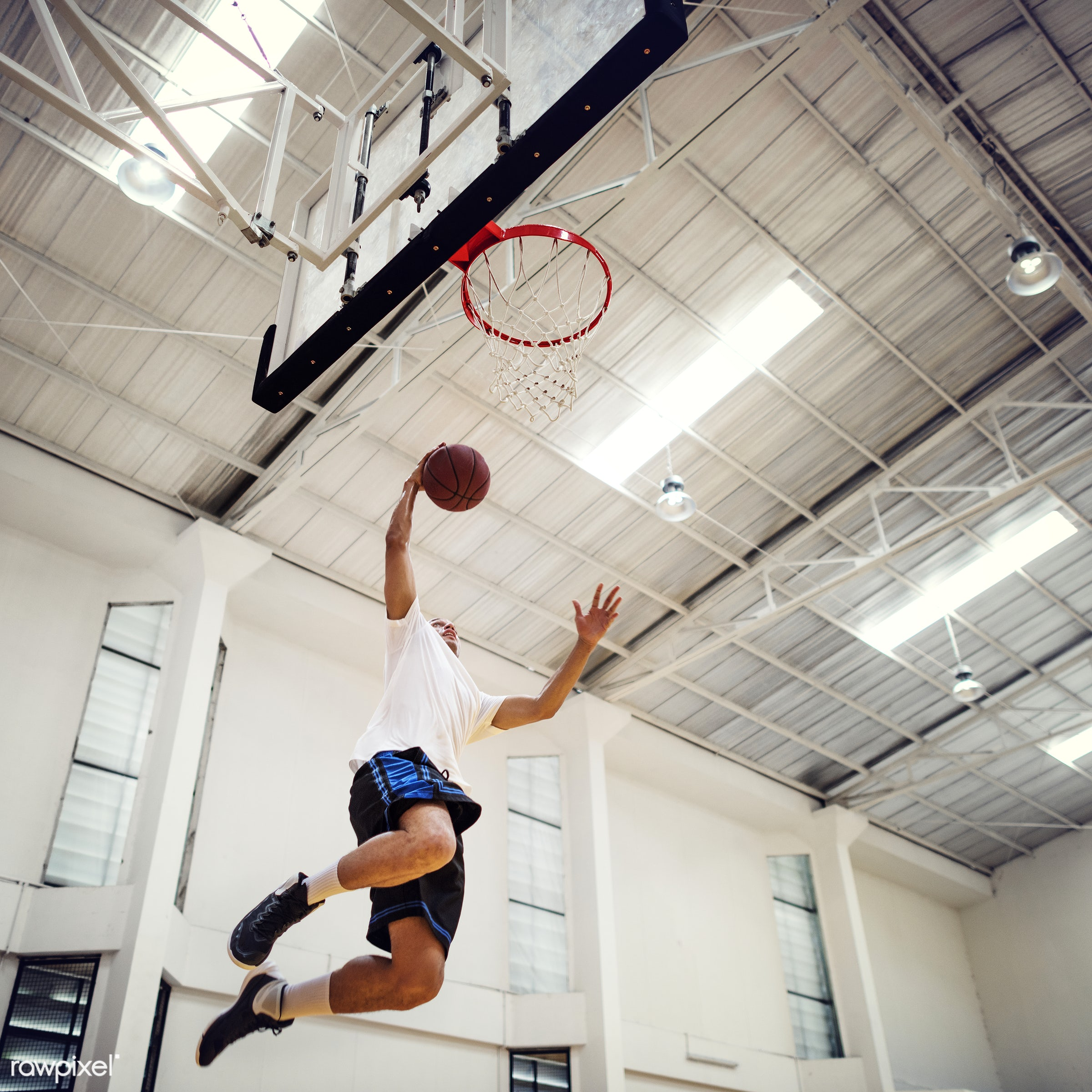 sport, activity, alone, ball, basketball, boy, court, dunk, exercise, game, gym, gymnasium, hoop, jump, loop, man, one, play...