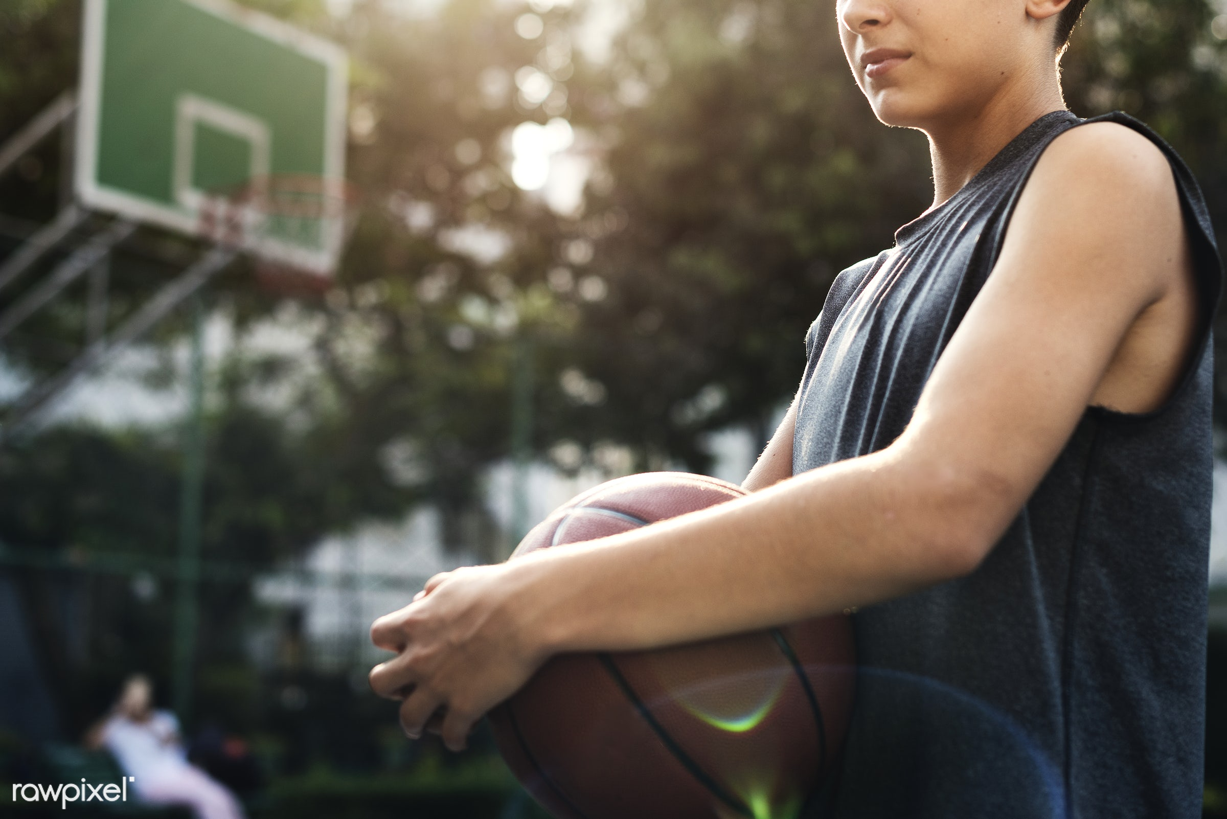 basketball, activity, alone, boy, caucasian, court, exercise, game, gym, gymnasium, man, one, play, player, practice, shoot...