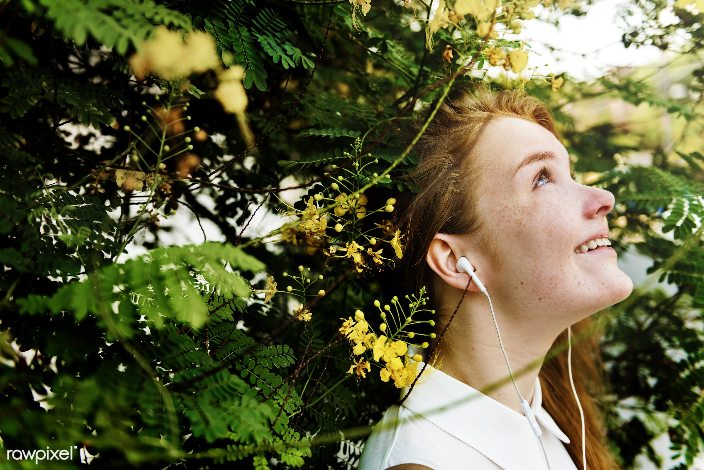alone, attractive, casual, cheerful, connecting, day, device, digital, earphone, enjoyment, experience, fashion, female,...