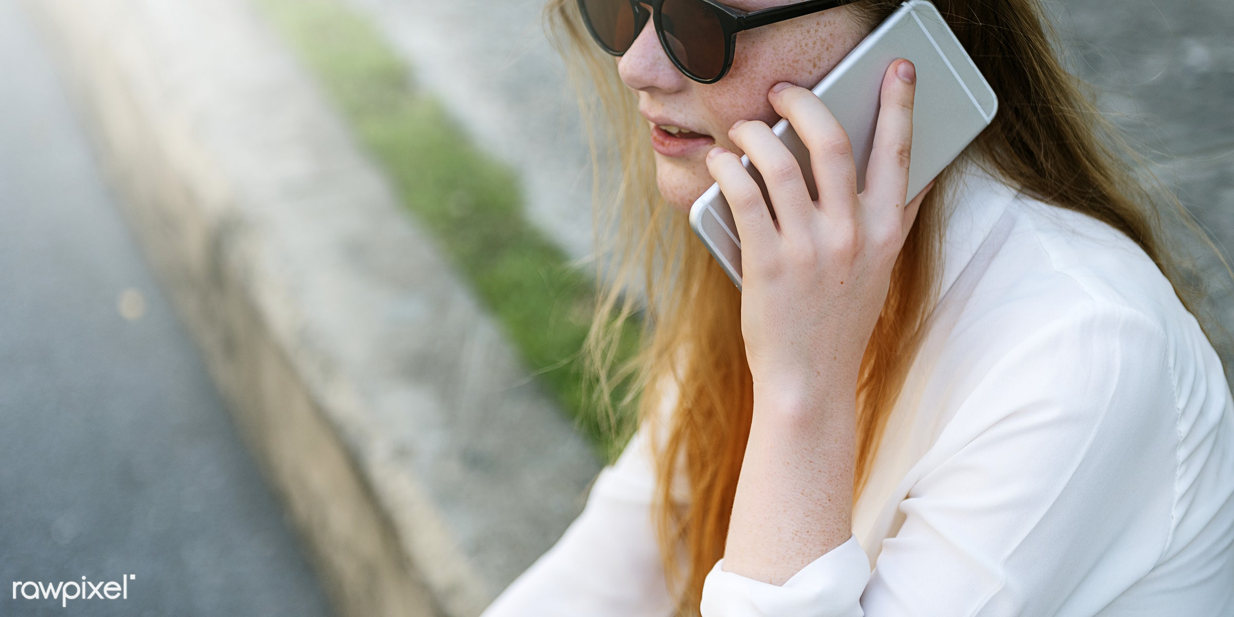 call, talk, conversation, teen, student, phone, people, hair, business, telephone, adult, beautiful, casual, caucasian,...