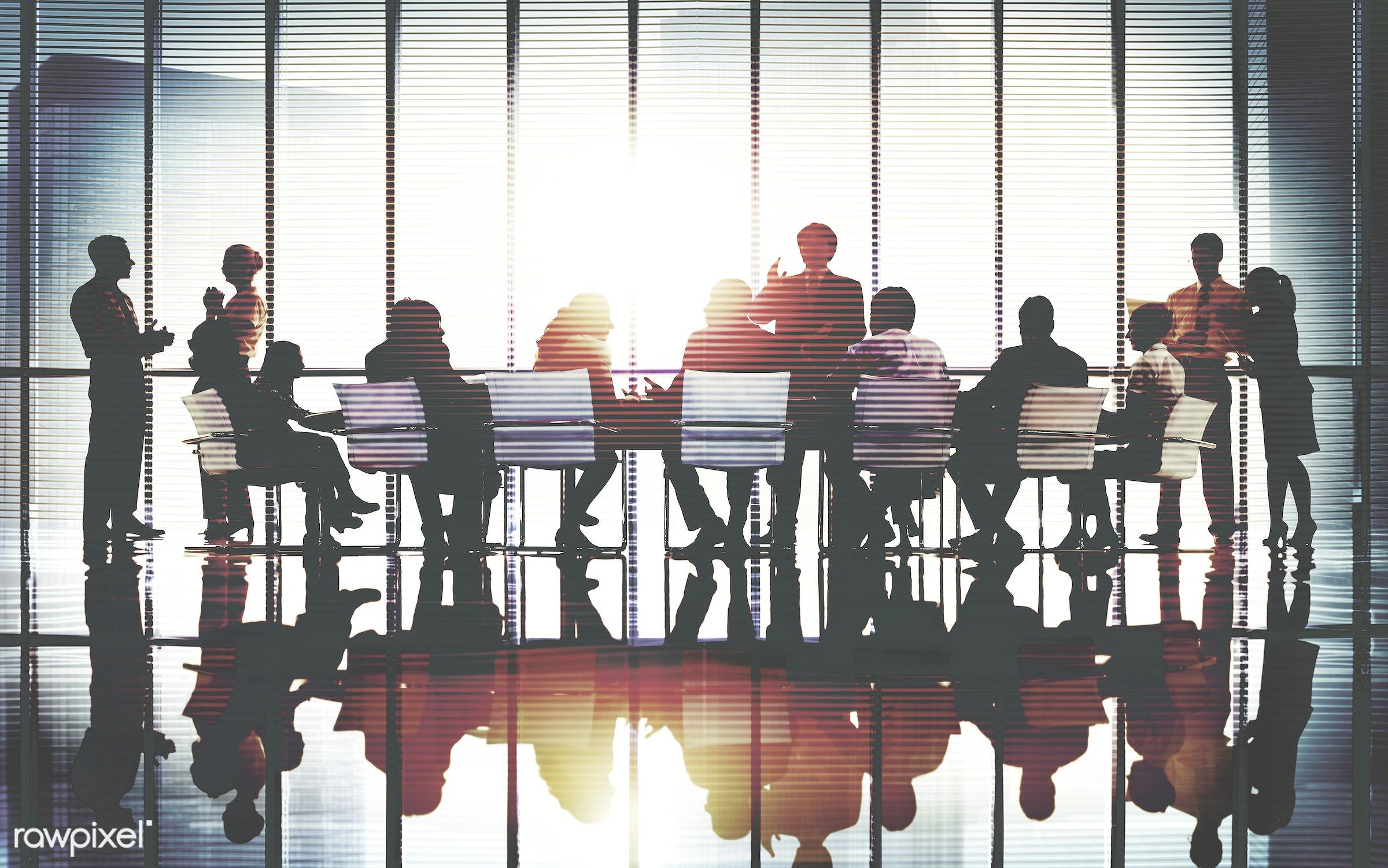 backlit, business, businessmen, businesswomen, cityscape, colleagues, communication, concepts, conference, connection,...