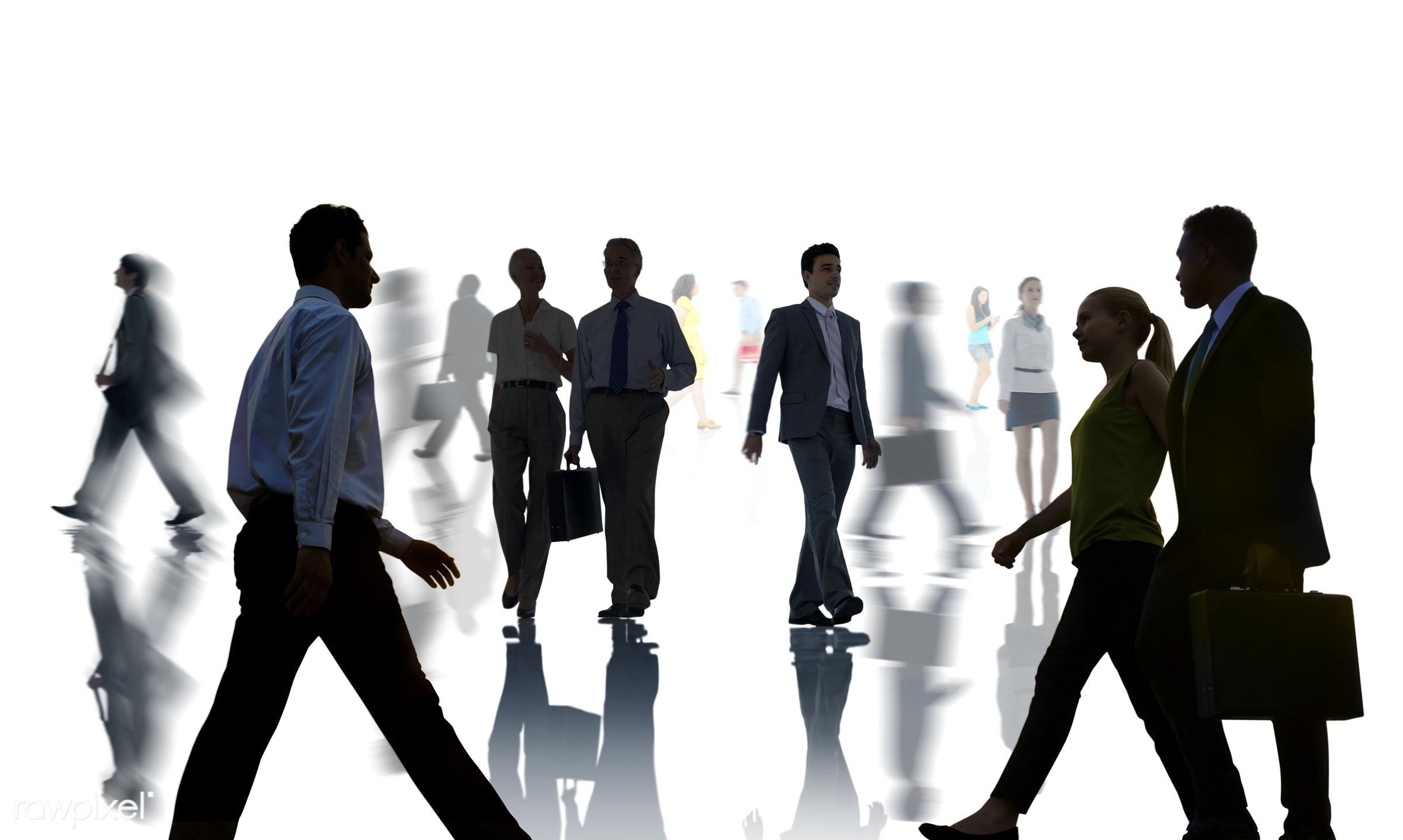 abstract, back lit, blurred motion, business, business people, businessmen, businesswomen, busy, communication, company,...