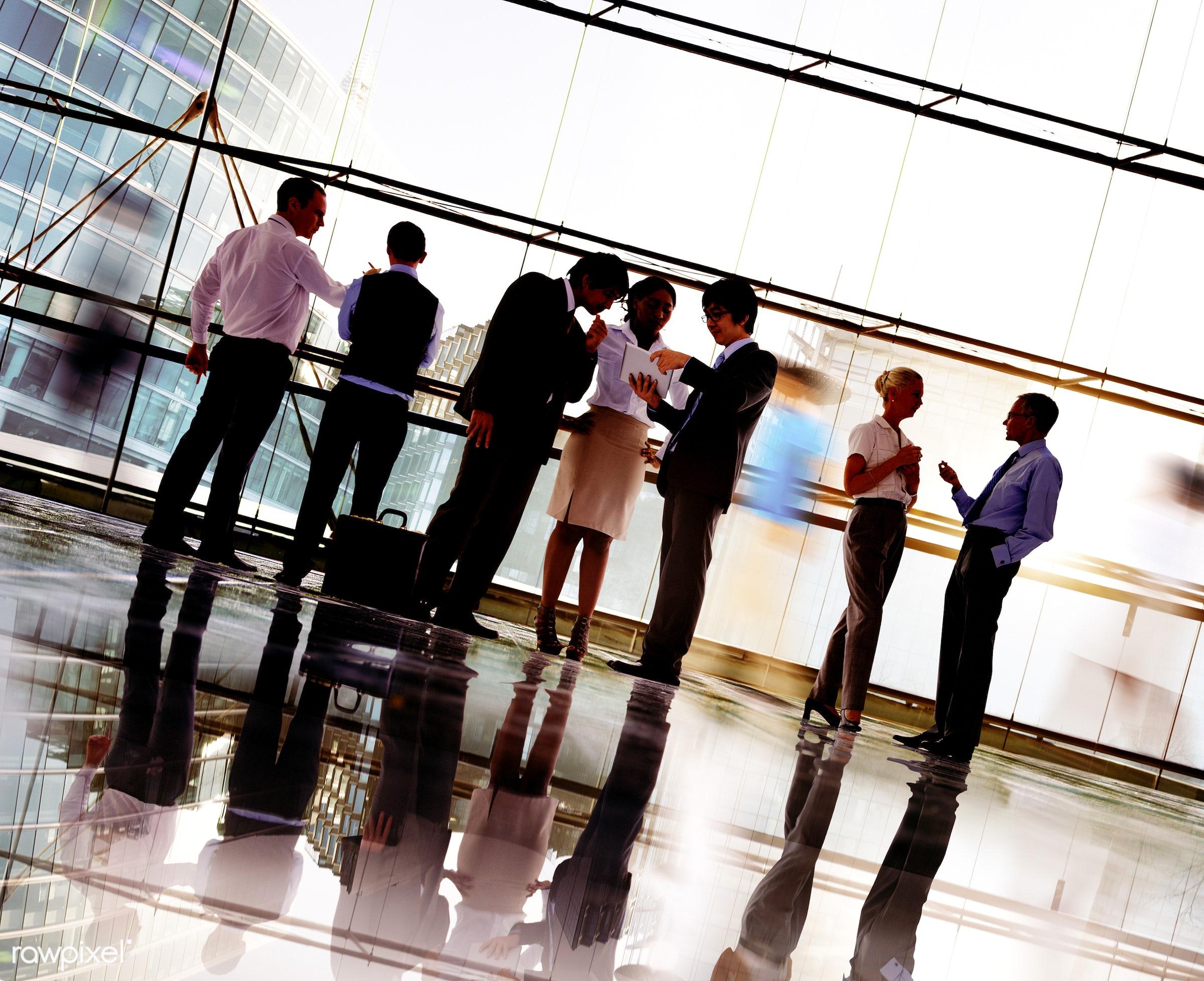 back lit, brainstorming, building, business, business people, businessmen, businesswomen, city, city life, cityscape,...