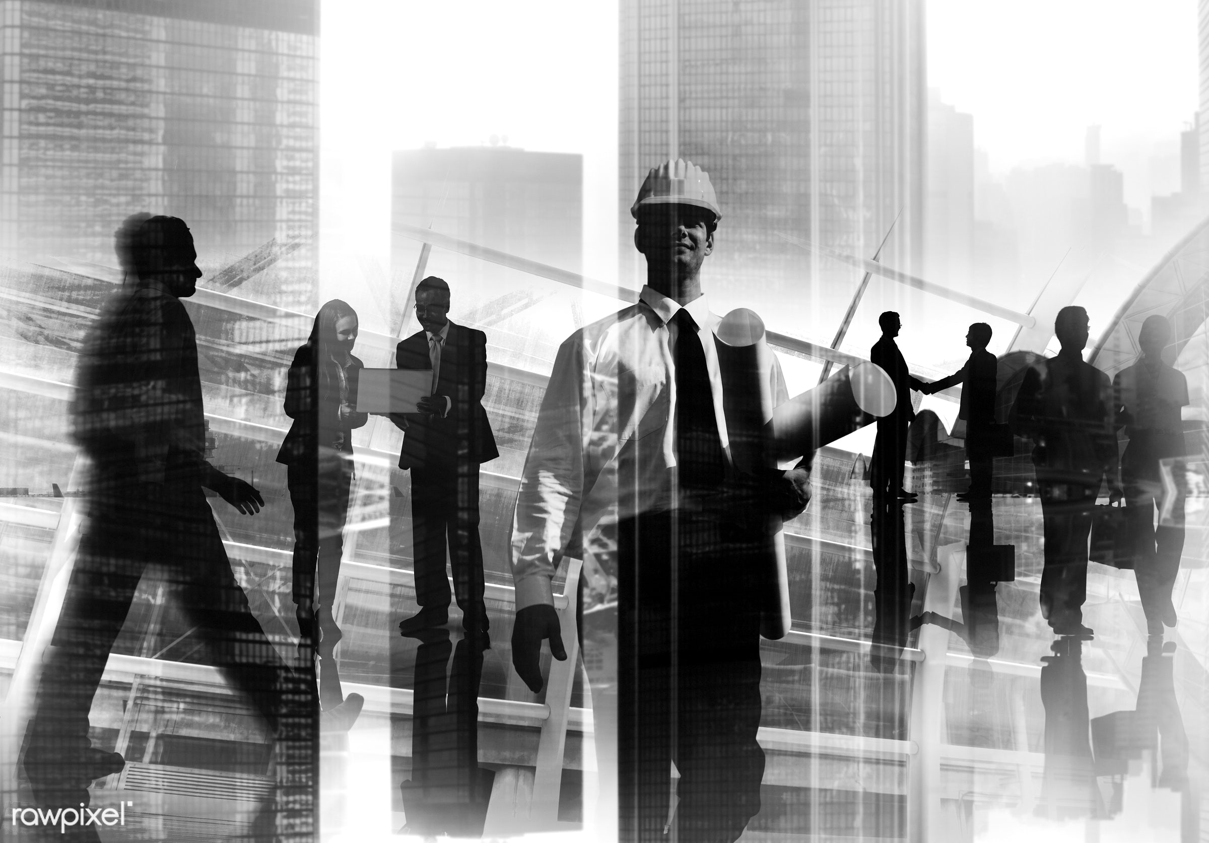 abstract, architect, blurred motion, building, business, business people, businessmen, businesswomen, busy, city, city life...