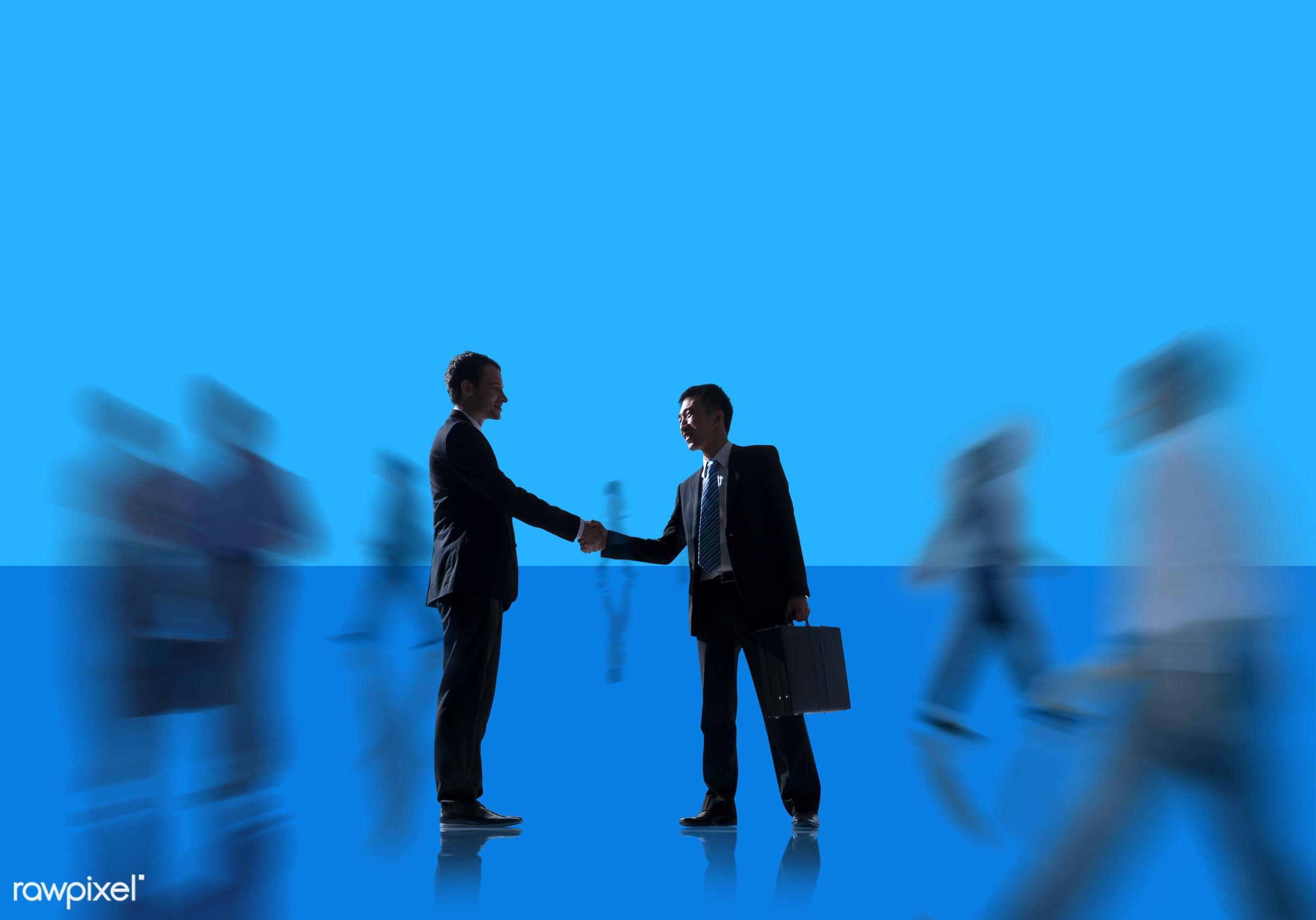 agreement, blank, blue, business, business people, businessmen, businesswomen, collaboration, colleague, communication,...