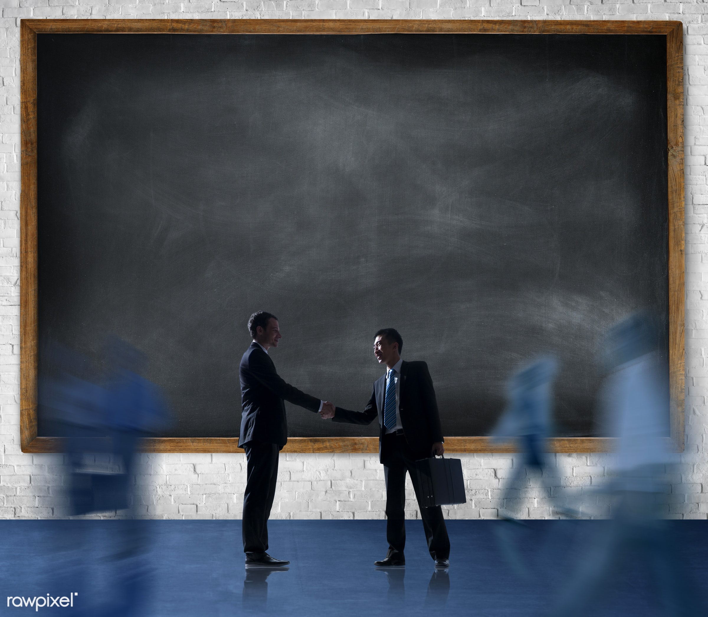 agreement, blackboard, blank, brick, brick wall, business, business people, businessmen, businesswomen, collaboration,...