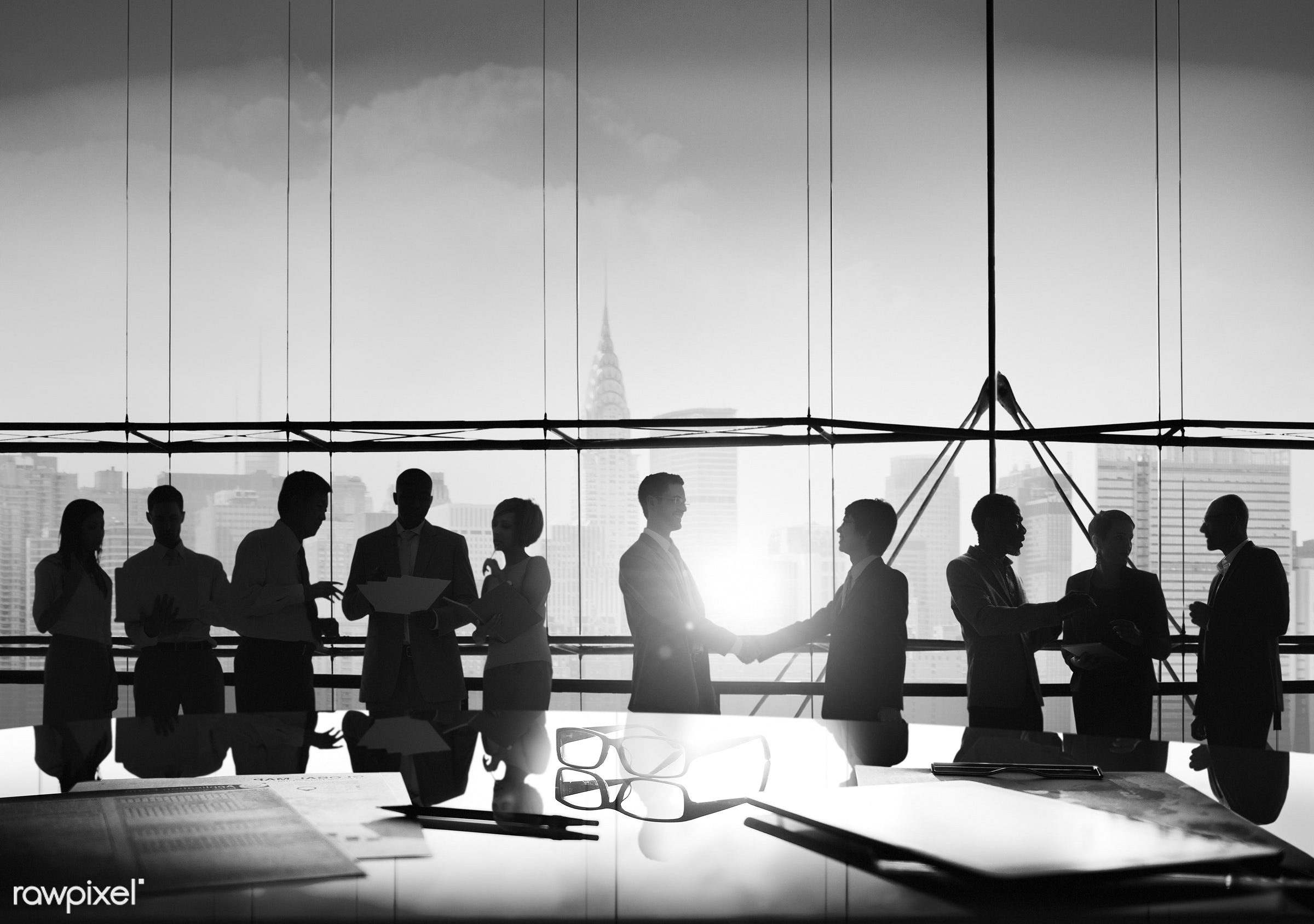 back lit, brainstorming, building, business, business people, businessmen, businesswomen, city, cityscape, colleague,...