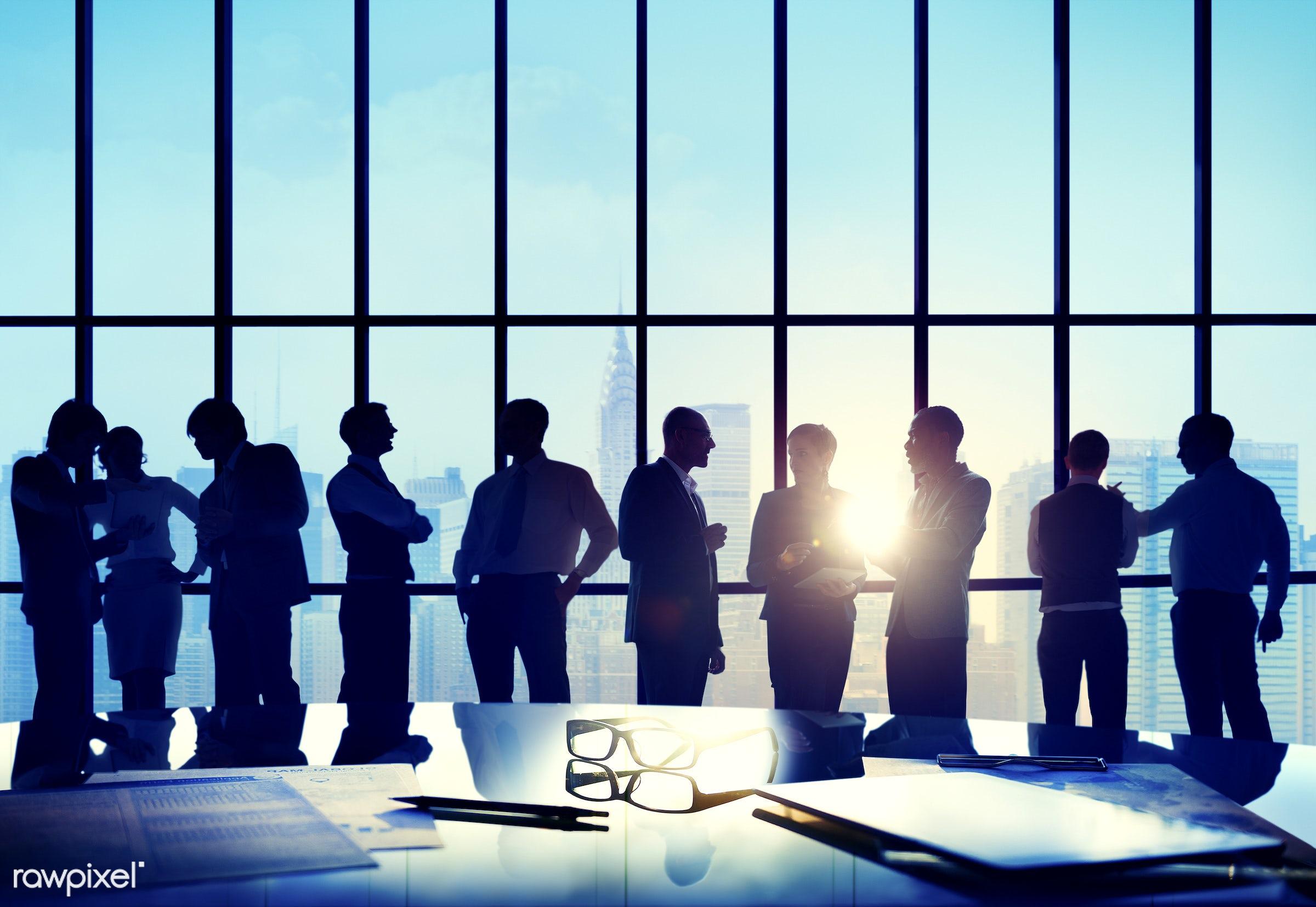 administration, back lit, board room, brainstorming, building, business, business people, businessmen, businesswomen, city,...