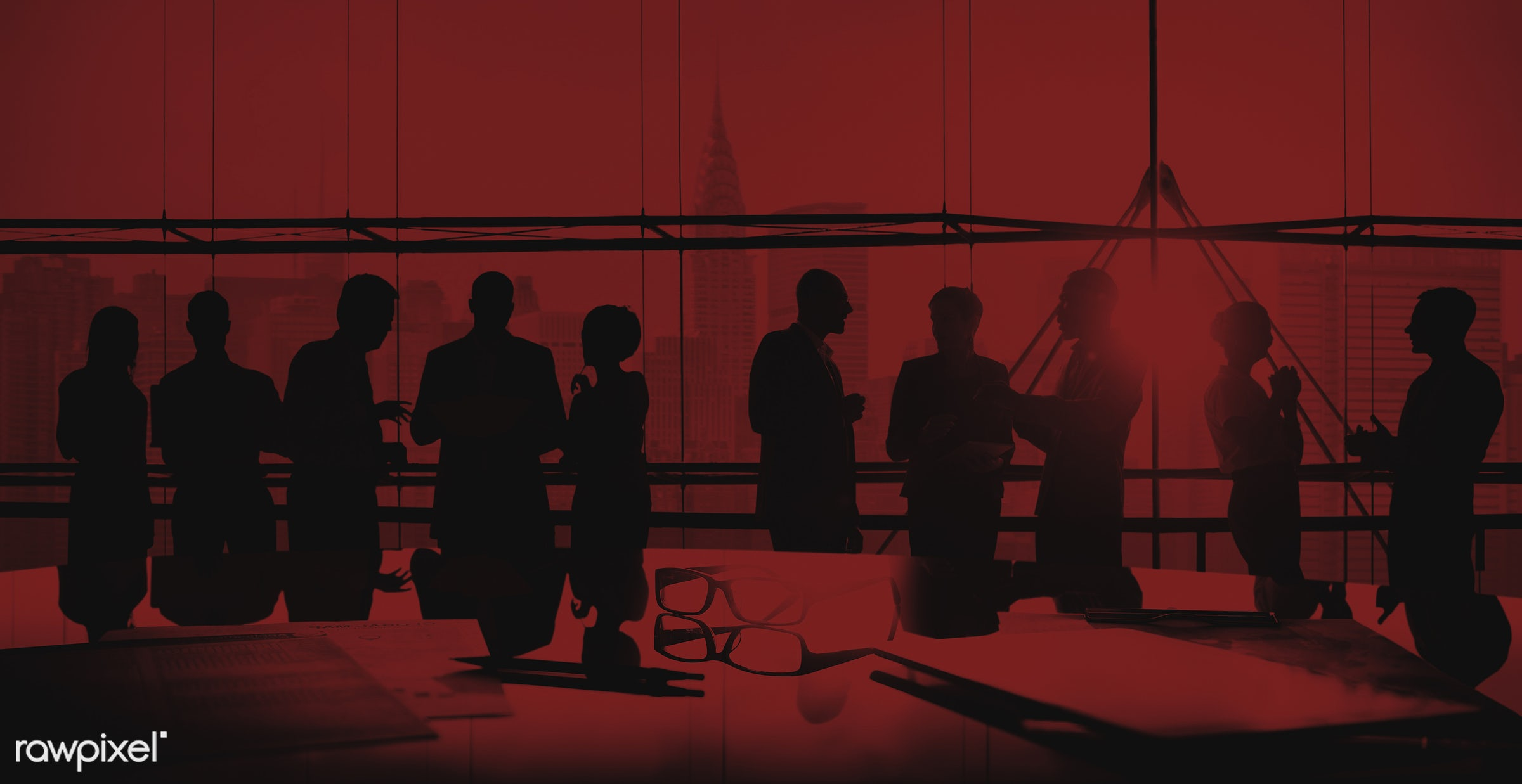 backlit, board room, brainstorming, buildings, business, businessmen, businesswomen, city, colleagues, communication,...
