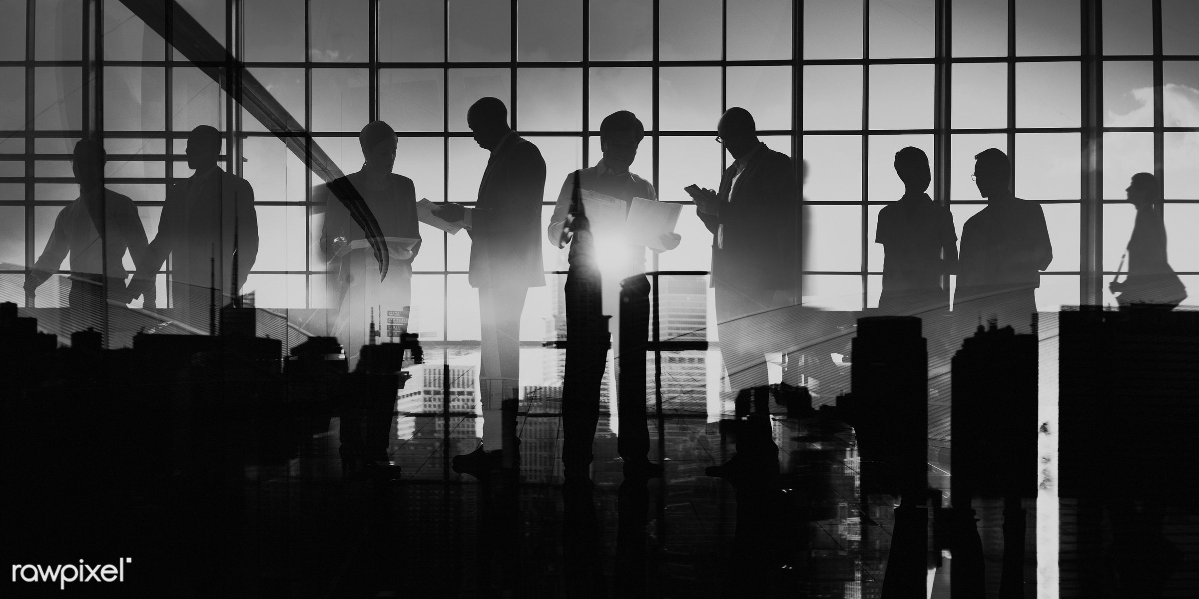 agreement, asian ethnicity, back lit, brainstorming, building, business, business people, businessmen, businesswomen, city,...