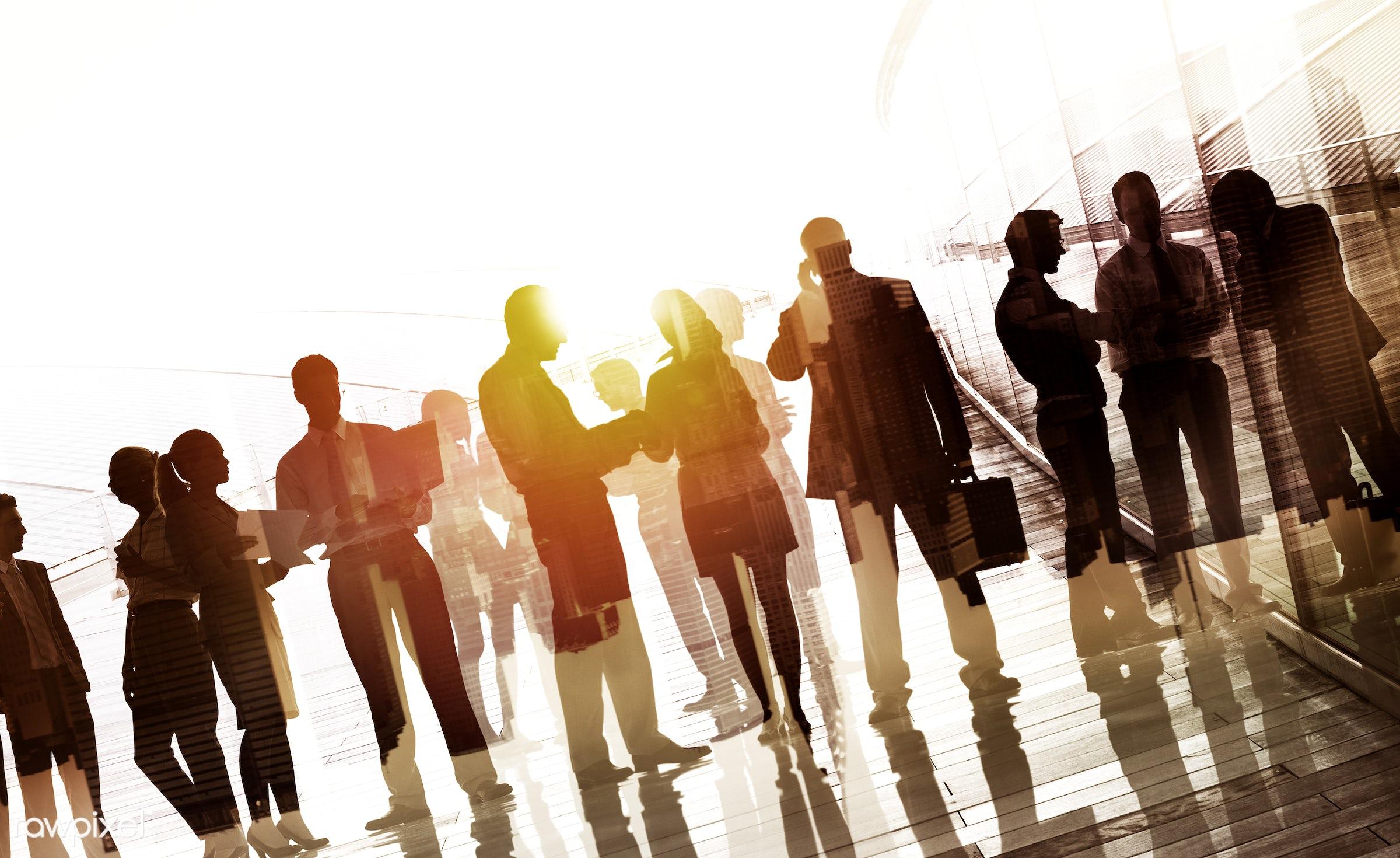 back lit, brainstorming, building, business, business people, businessmen, businesswomen, city, cityscape, collaboration,...