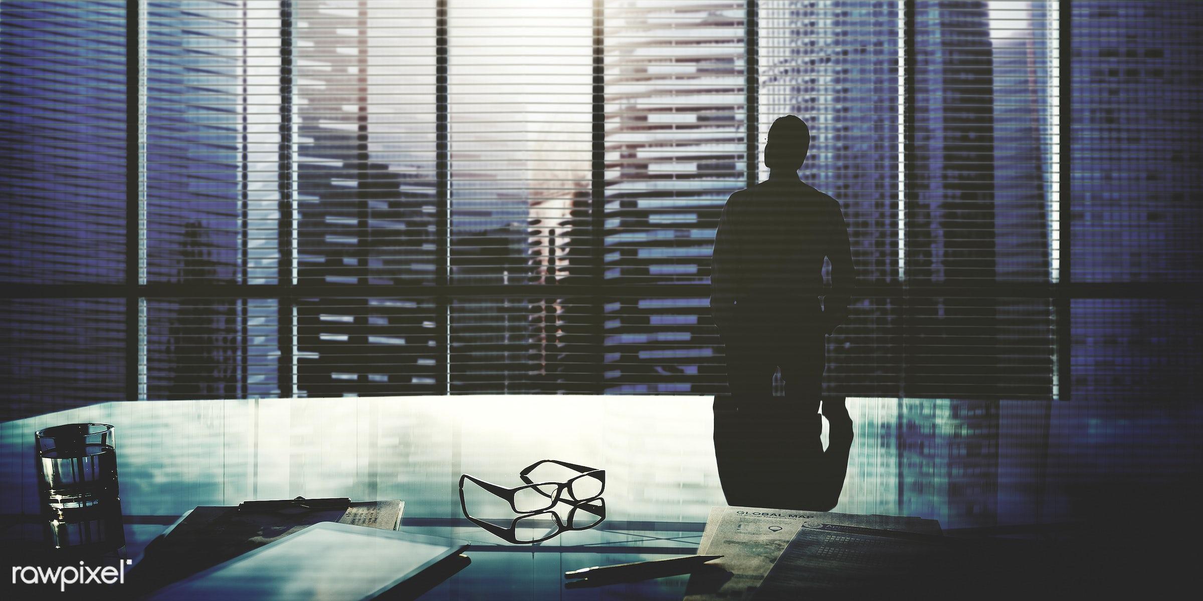alone, aspiration, backlit, boss, break time, buildings, business, businessman, city, city life, cityscape, contemplating,...