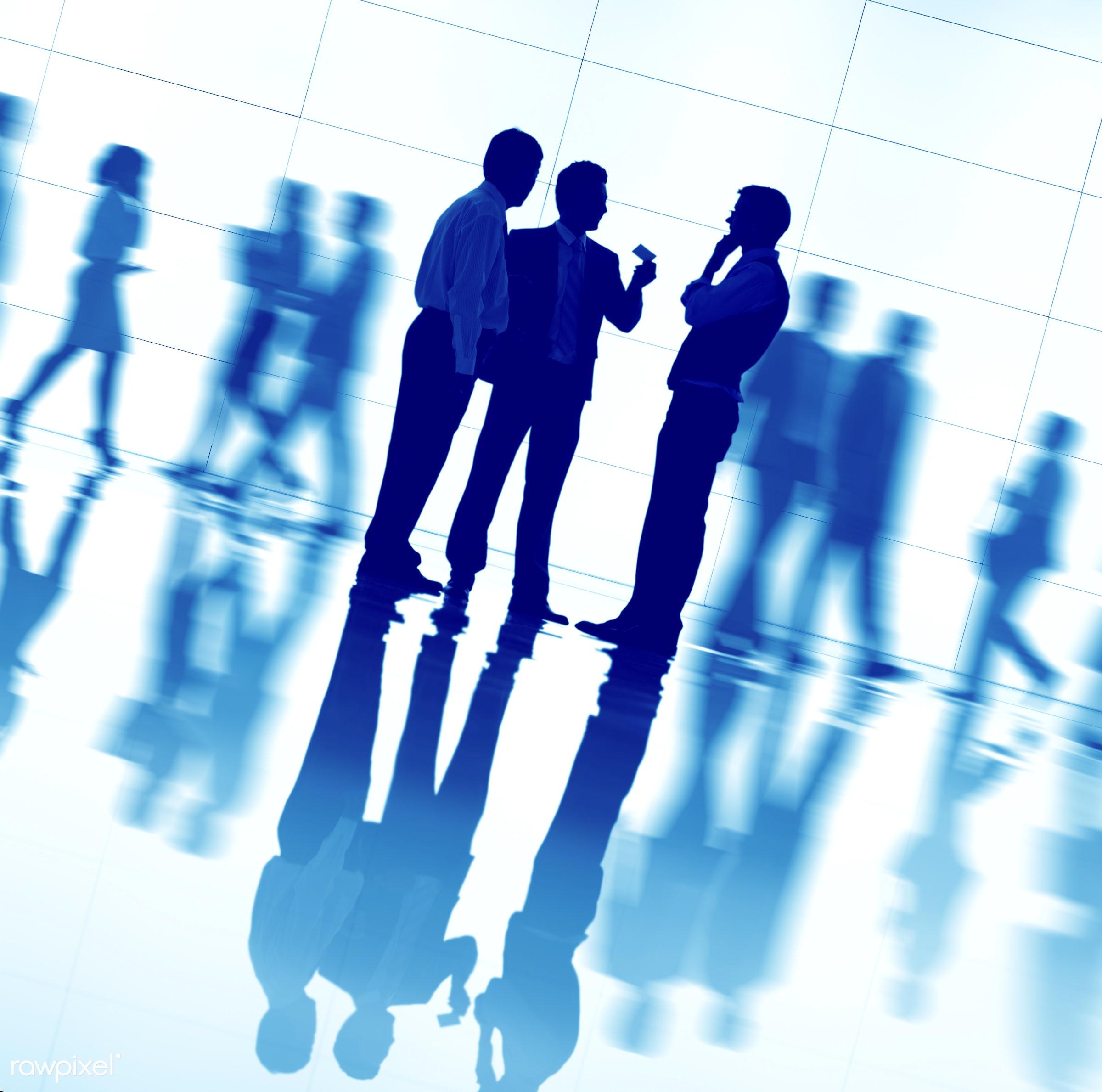 agreement, back lit, blue, brainstorming, business, business people, businessmen, businesswomen, busy, colleague,...