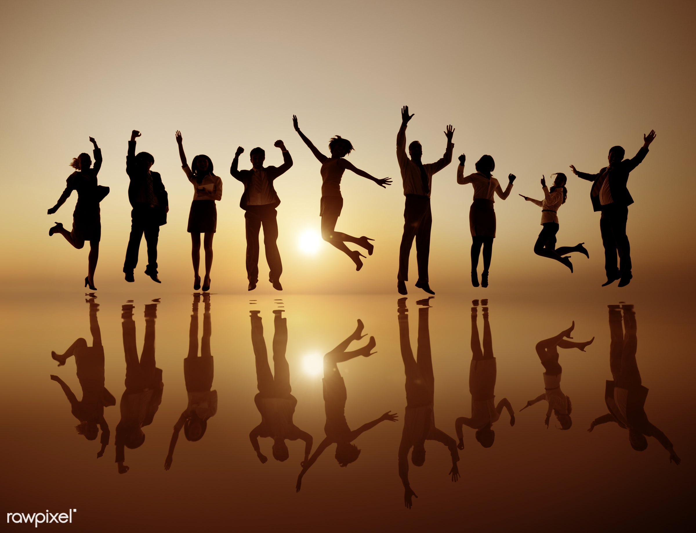 achievement, adult, arms outstretched, arms raised, body language, business, businessmen, businesswomen, celebration,...