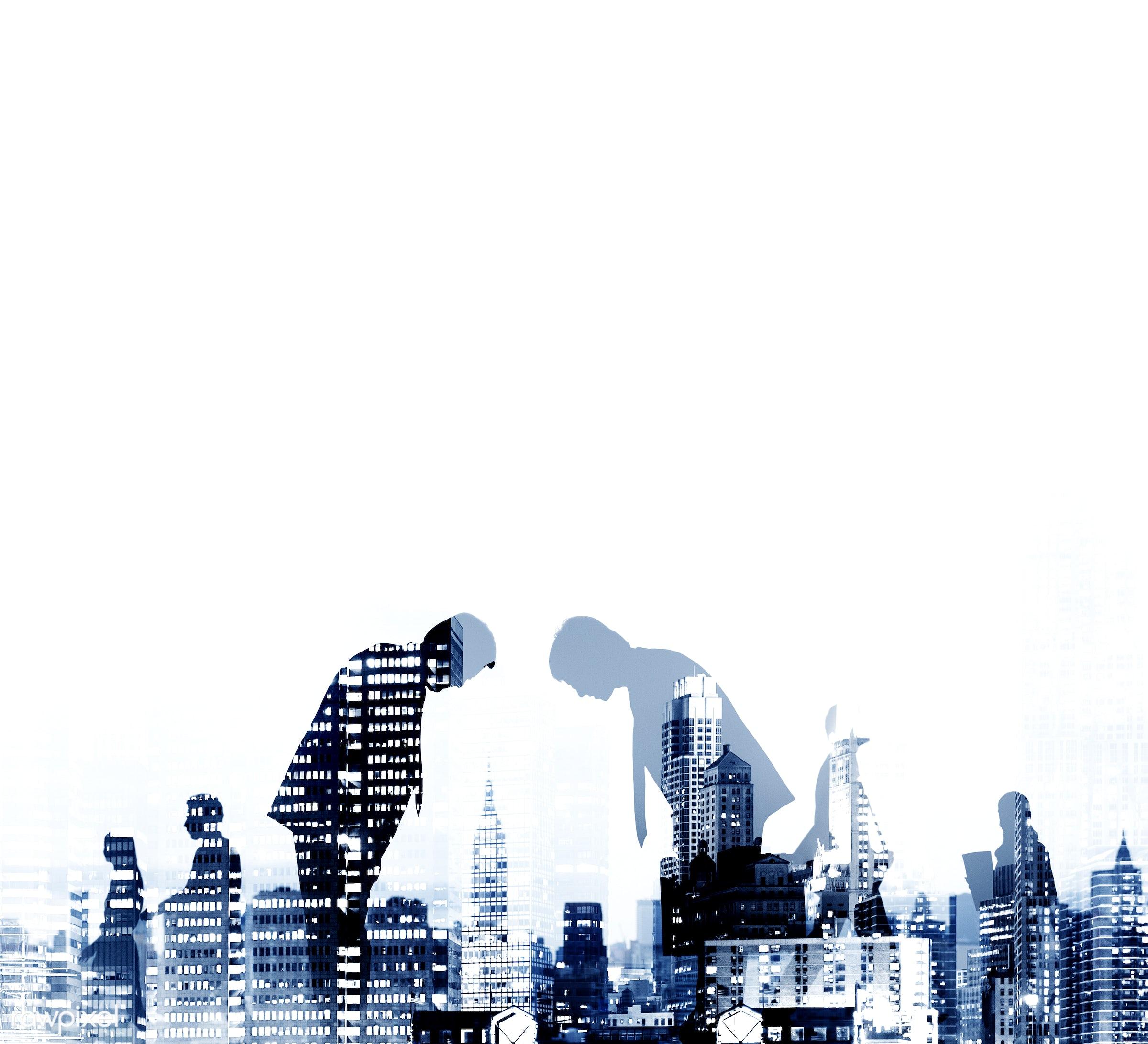 bowing, brainstorming, business, business people, businessmen, businesswomen, city, cityscape, colleagues, communication,...