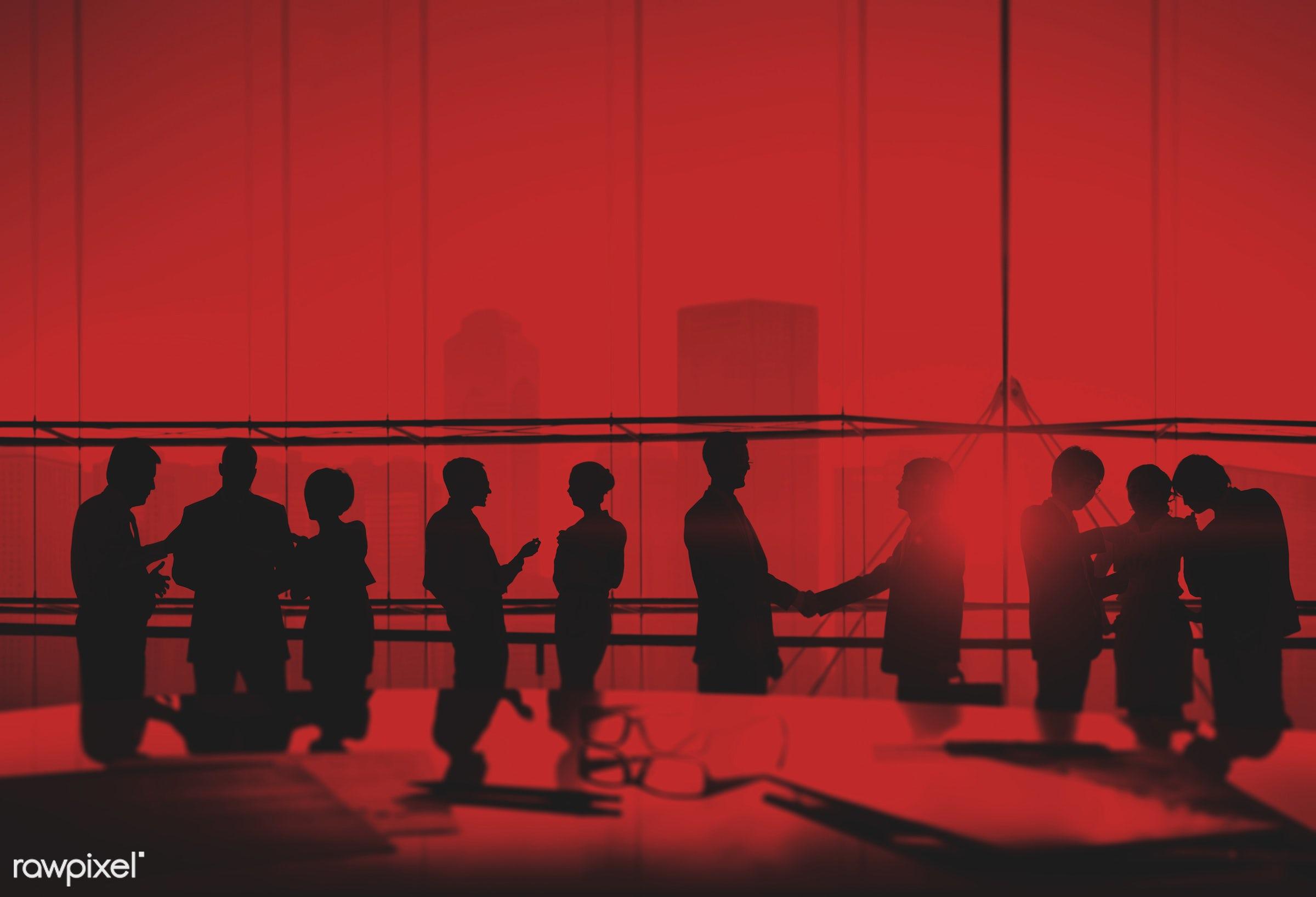 back lit, board room, building interior, business, business people, businessman, businesswoman, city, communication,...