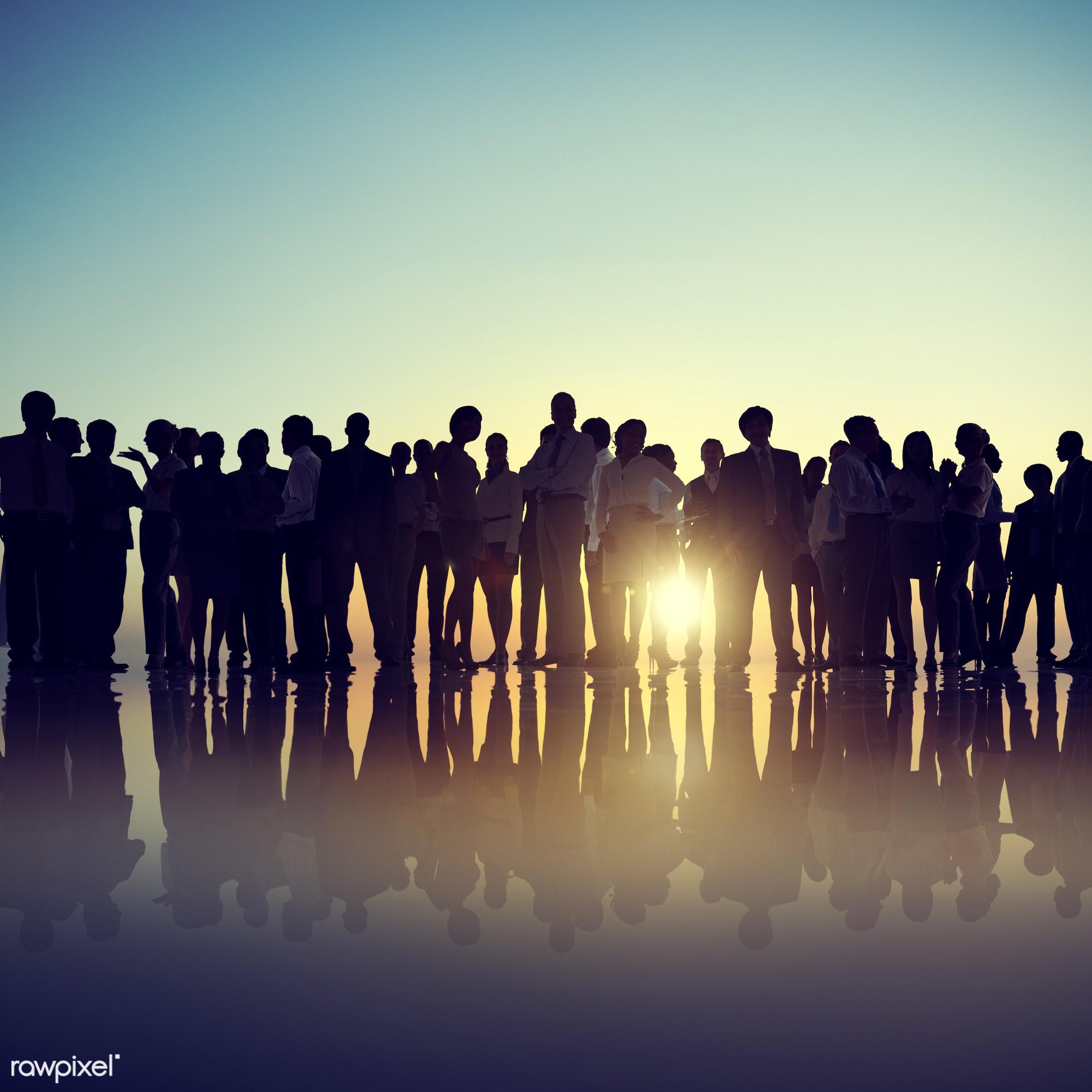 dusk, back lit, brainstorming, business, businessmen, businesswomen, career, colleagues, communication, conference,...