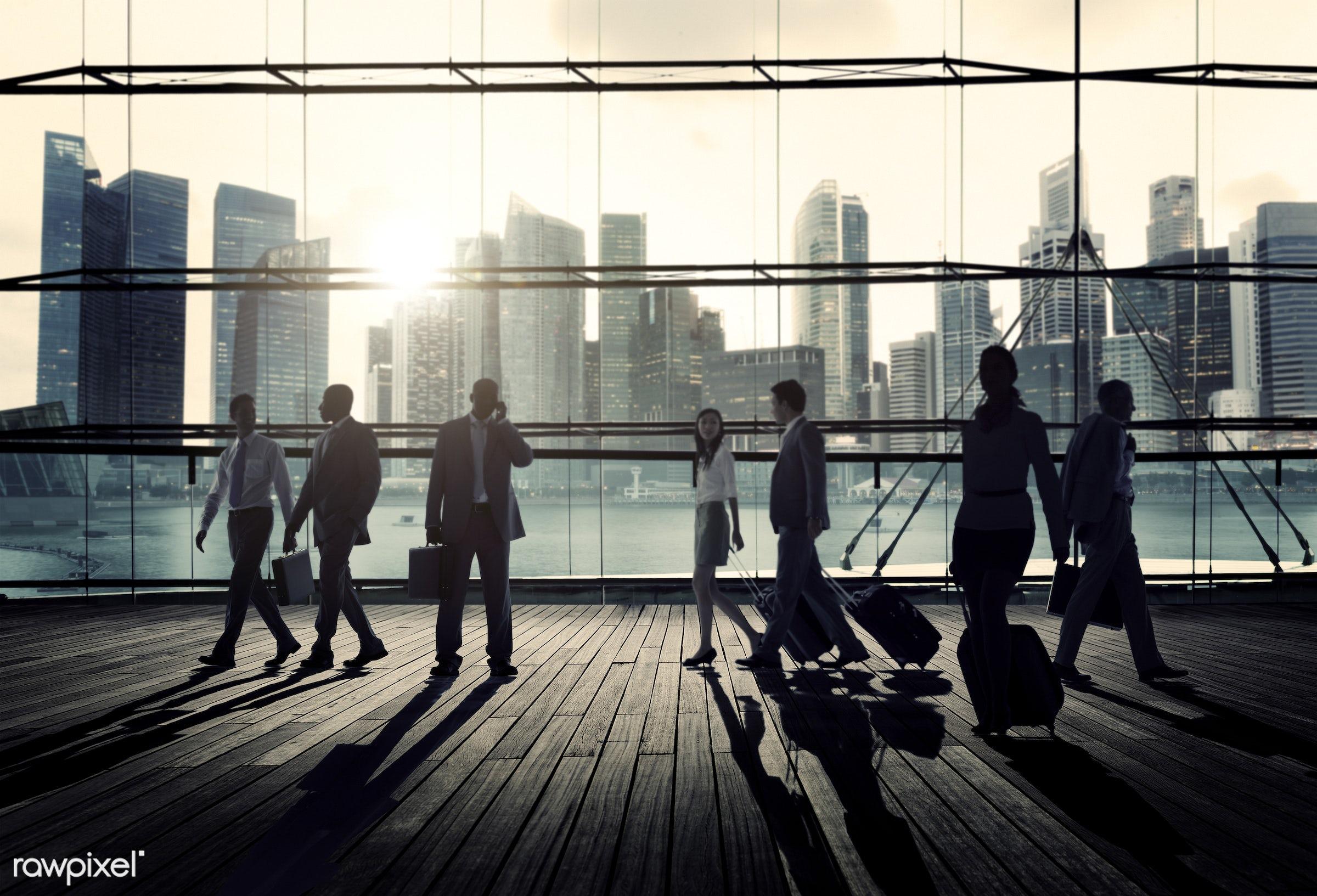 contemporary, back lit, building, buildings, business, business people, business travel, business trip, businessmen,...