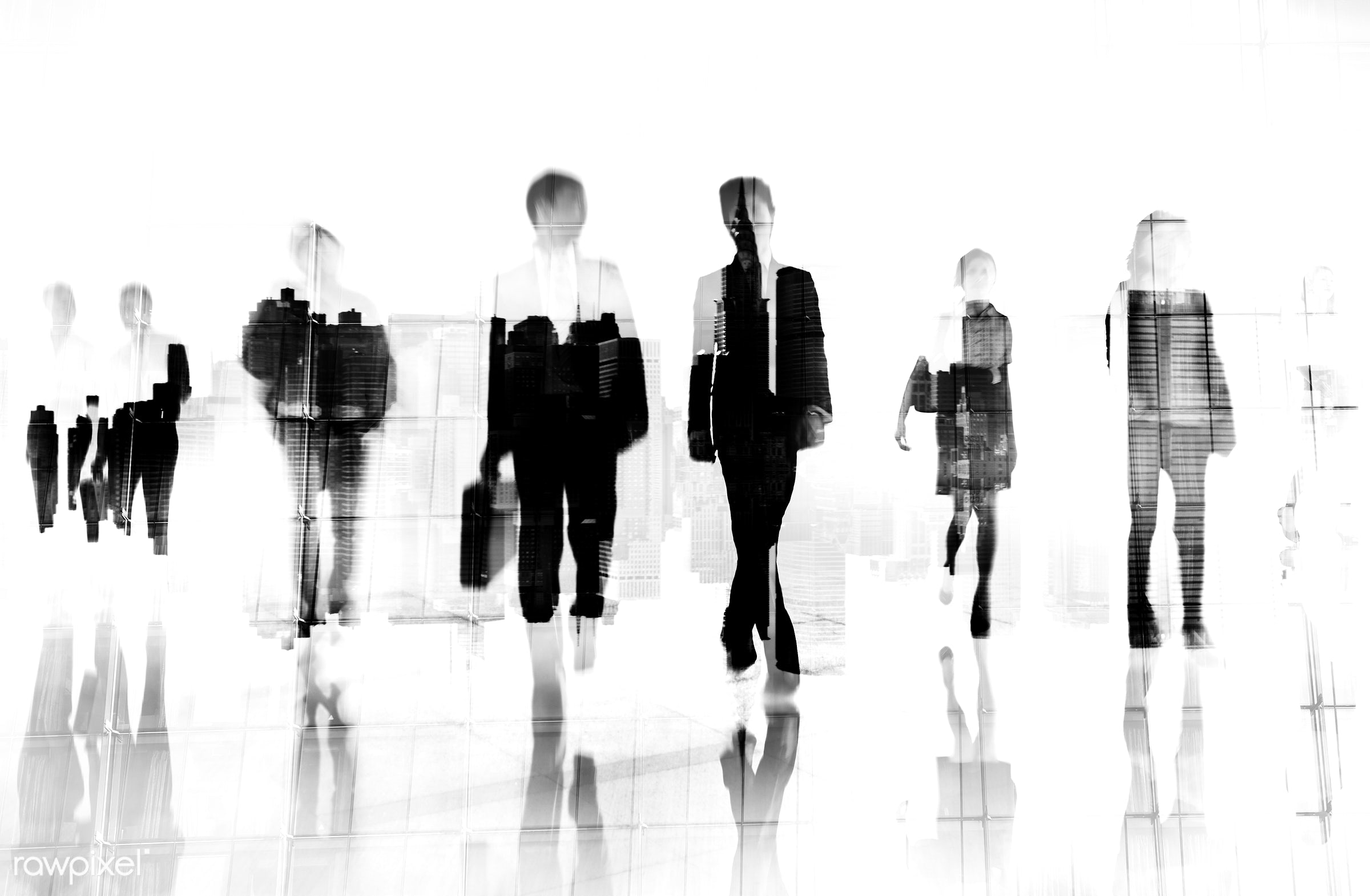abstract, asian ethnicity, buildings, business, businessmen, businesswomen, career, city, cityscape, colleagues, commute,...
